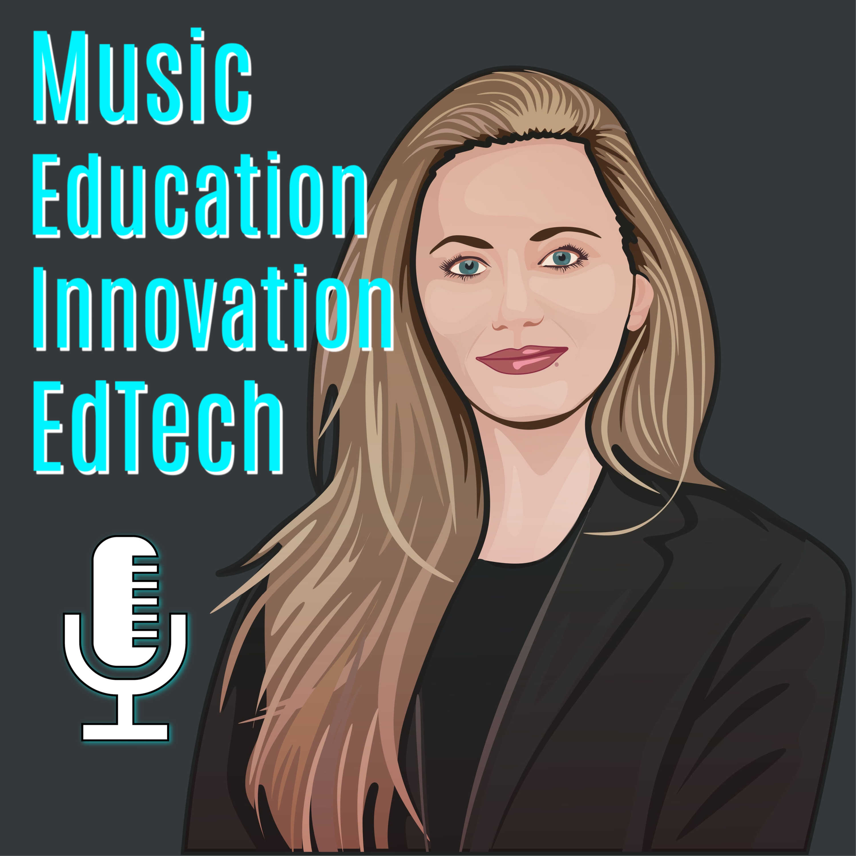 Show artwork for KOVA ED on music education, pedagogic innovation and EdTech