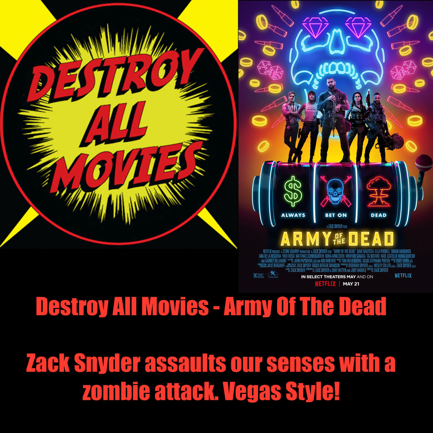 Artwork for podcast Destroy All Movies: The Movie Review Show