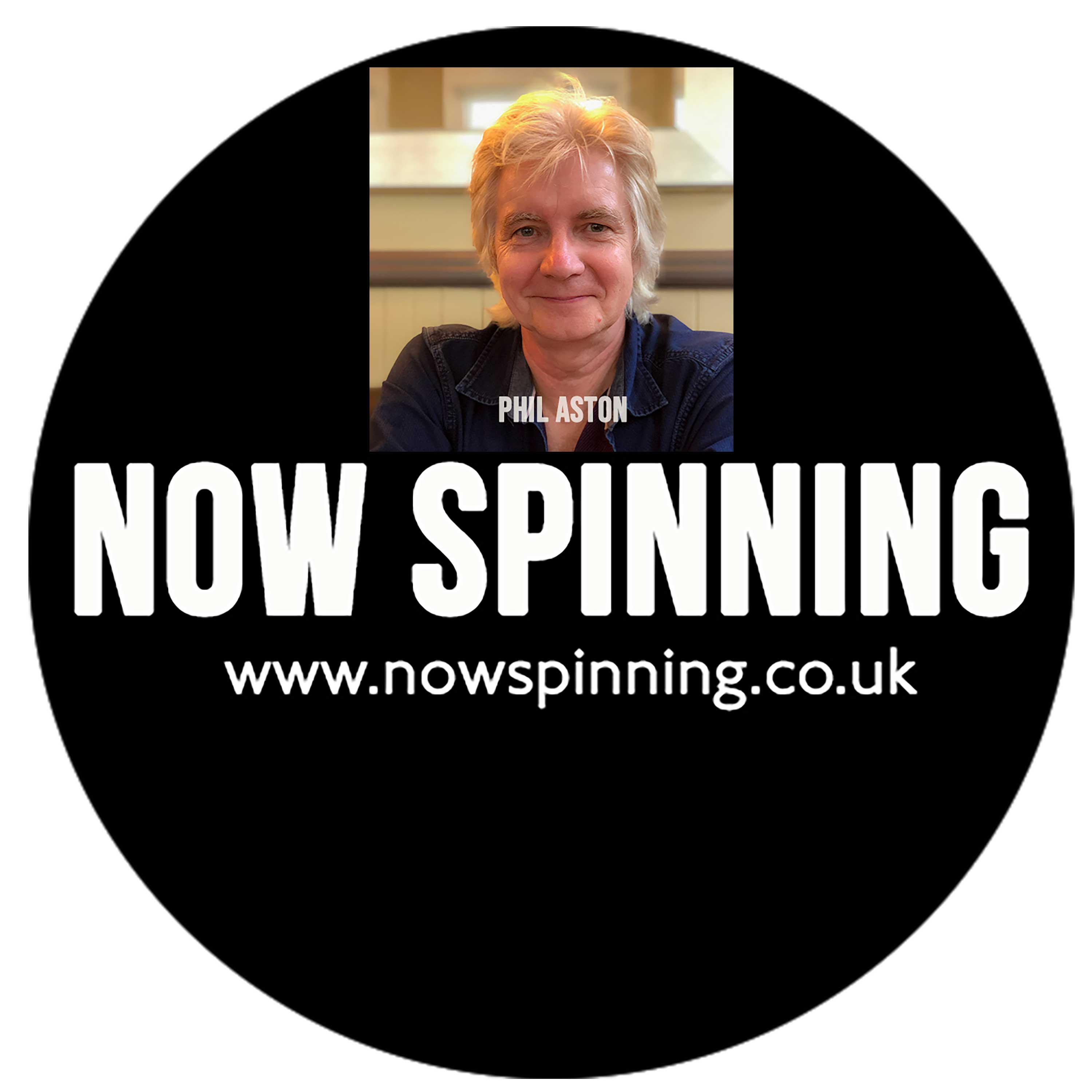 Artwork for podcast Now Spinning Magazine with Phil Aston