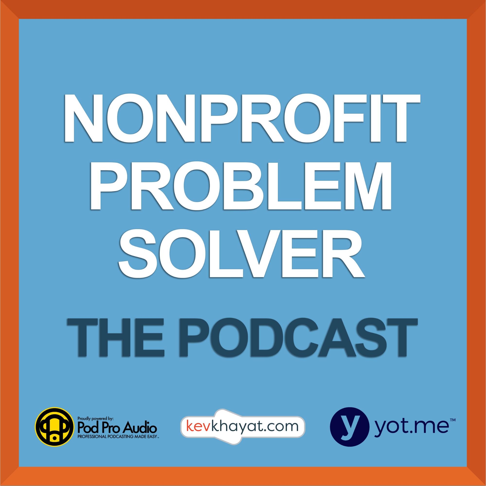 Artwork for podcast Nonprofit Problem Solver