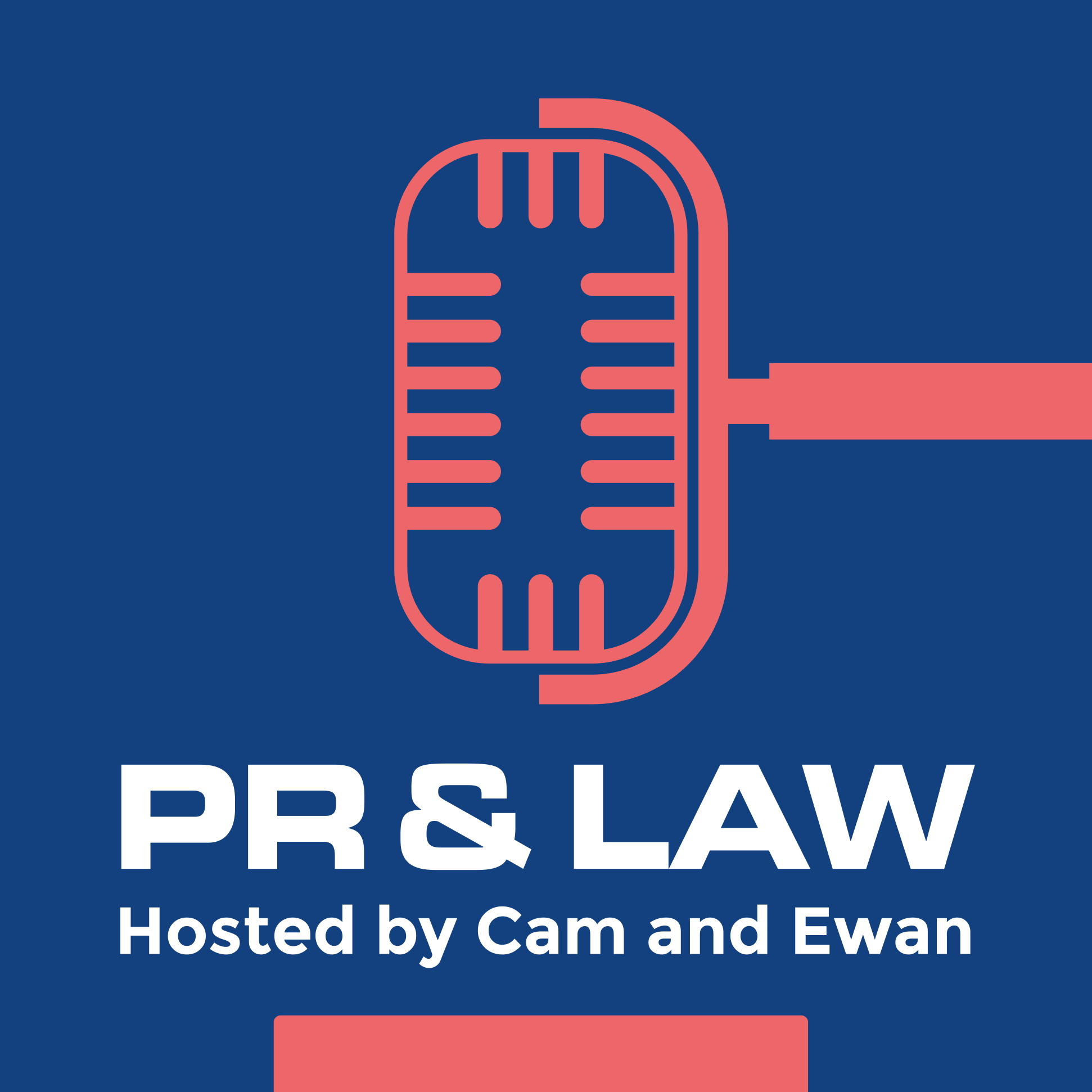Show artwork for PR & Law