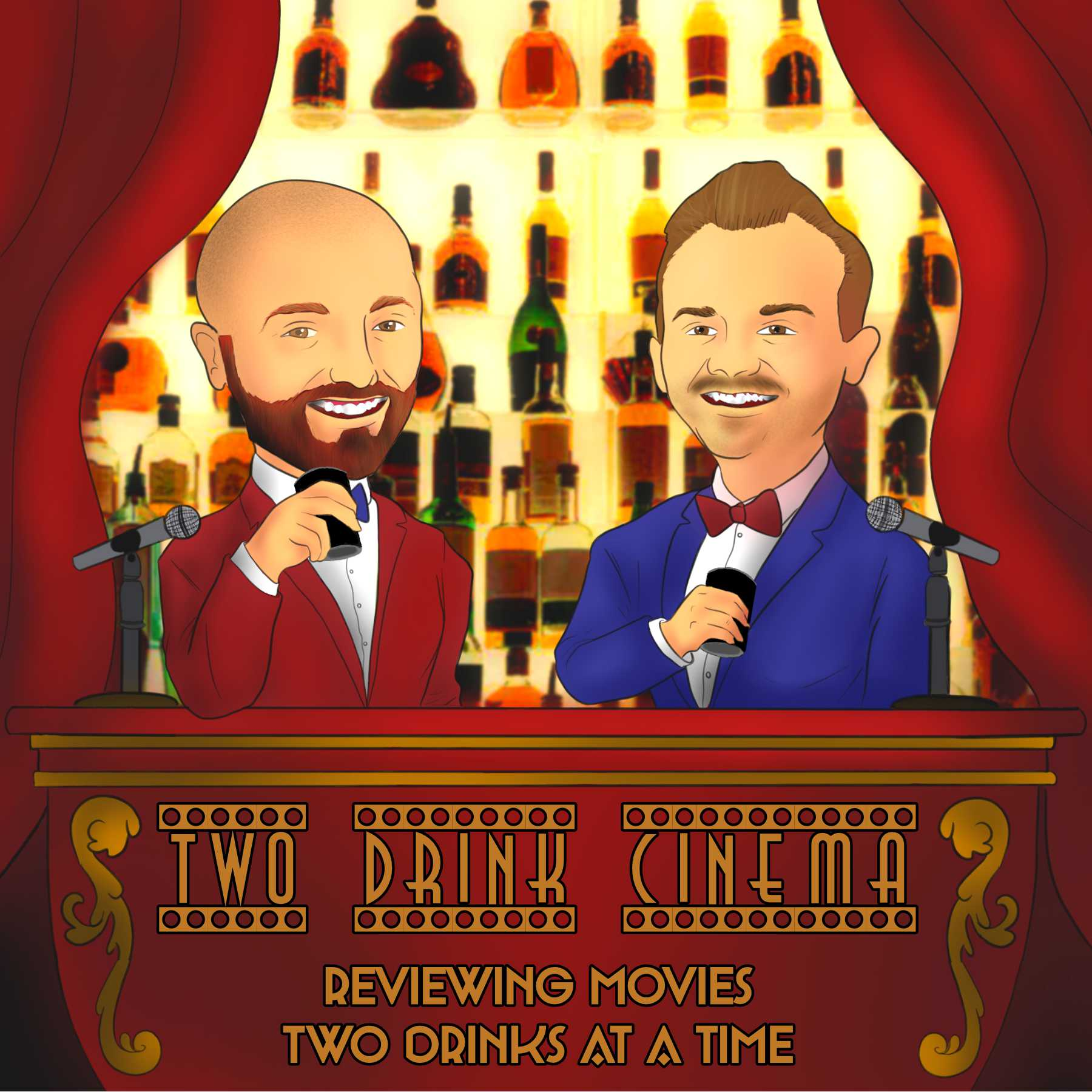 Artwork for podcast Two Drink Cinema