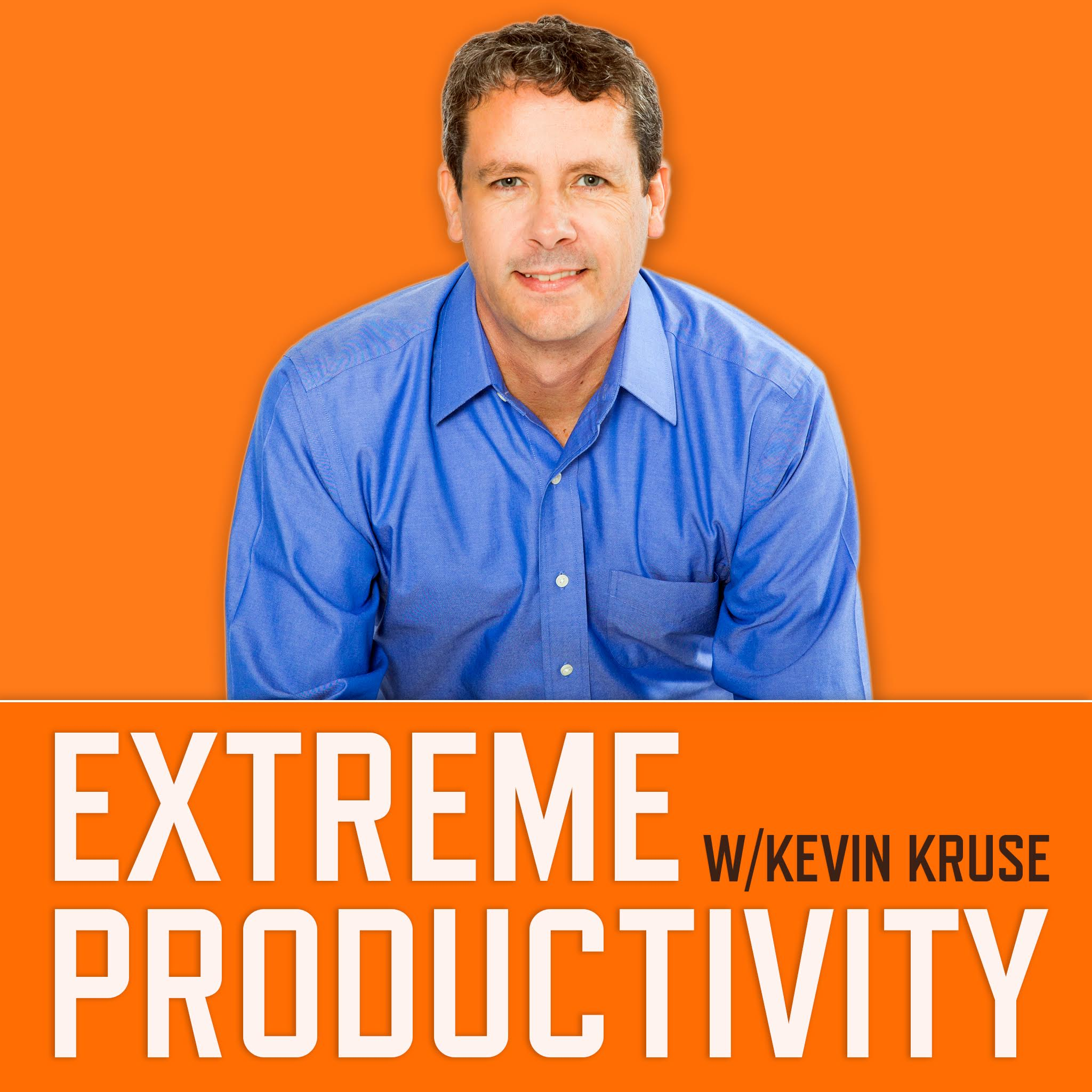 Artwork for podcast Extreme Productivity with Kevin Kruse