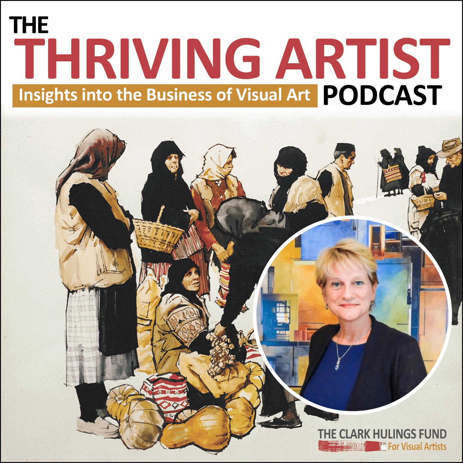 Artwork for podcast The Thriving Artist