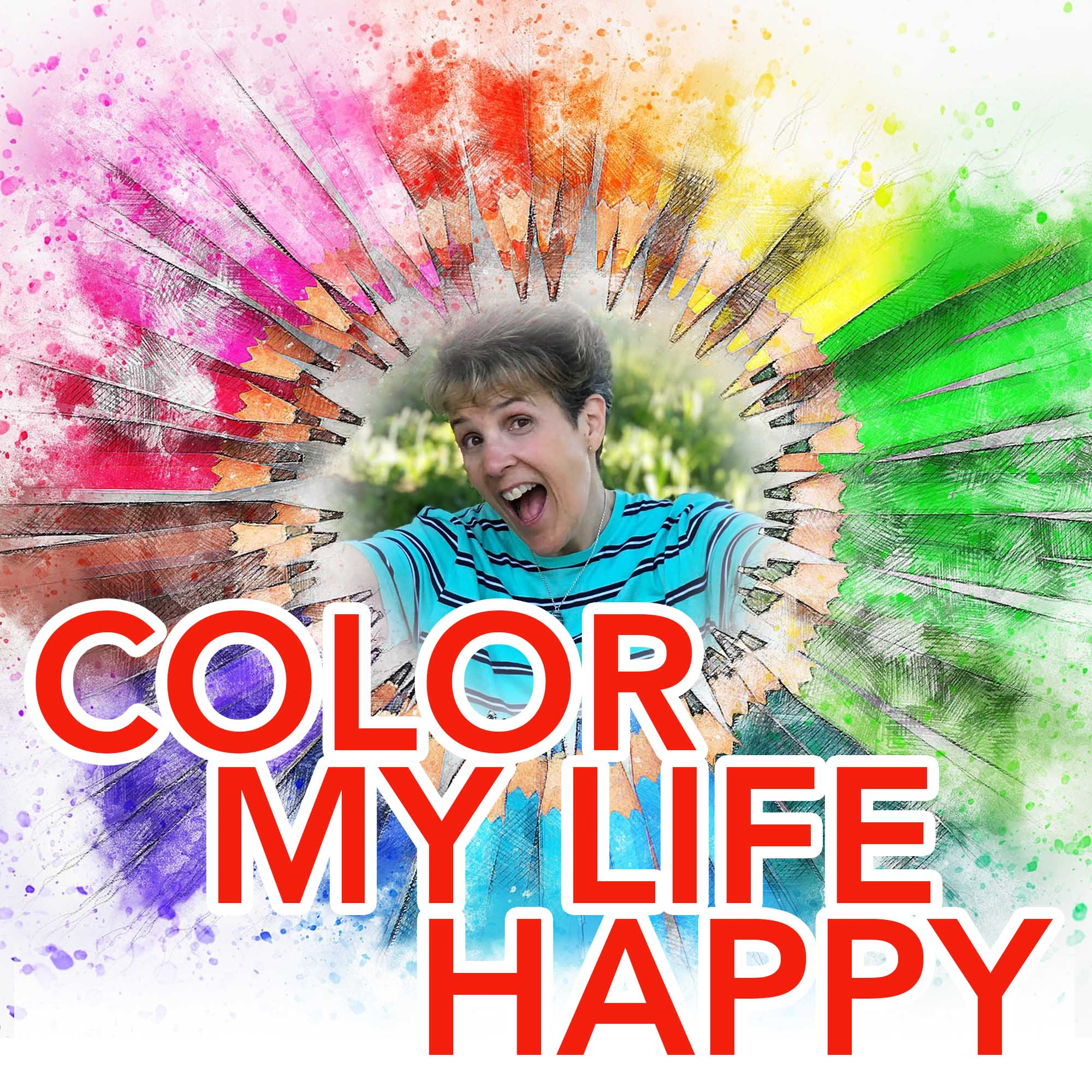 Artwork for podcast Color My Life Happy