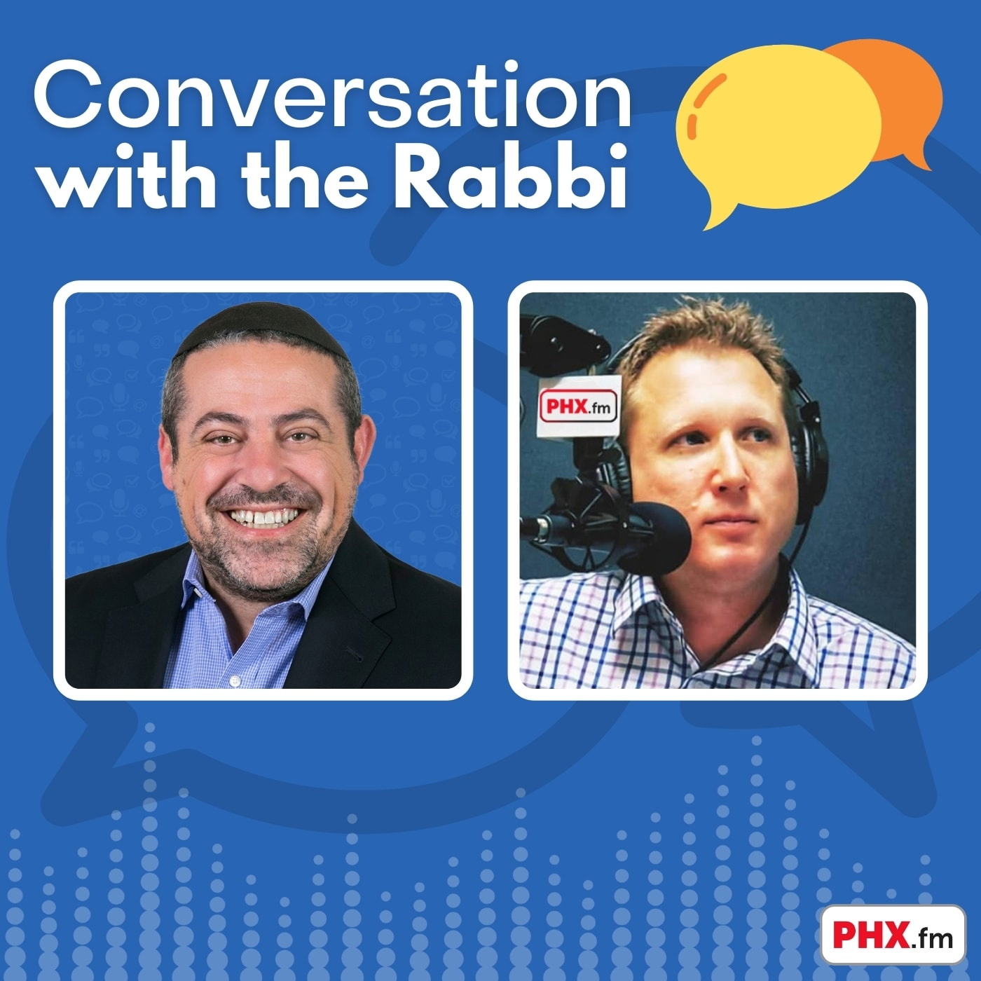 Artwork for podcast Conversation with the Rabbi