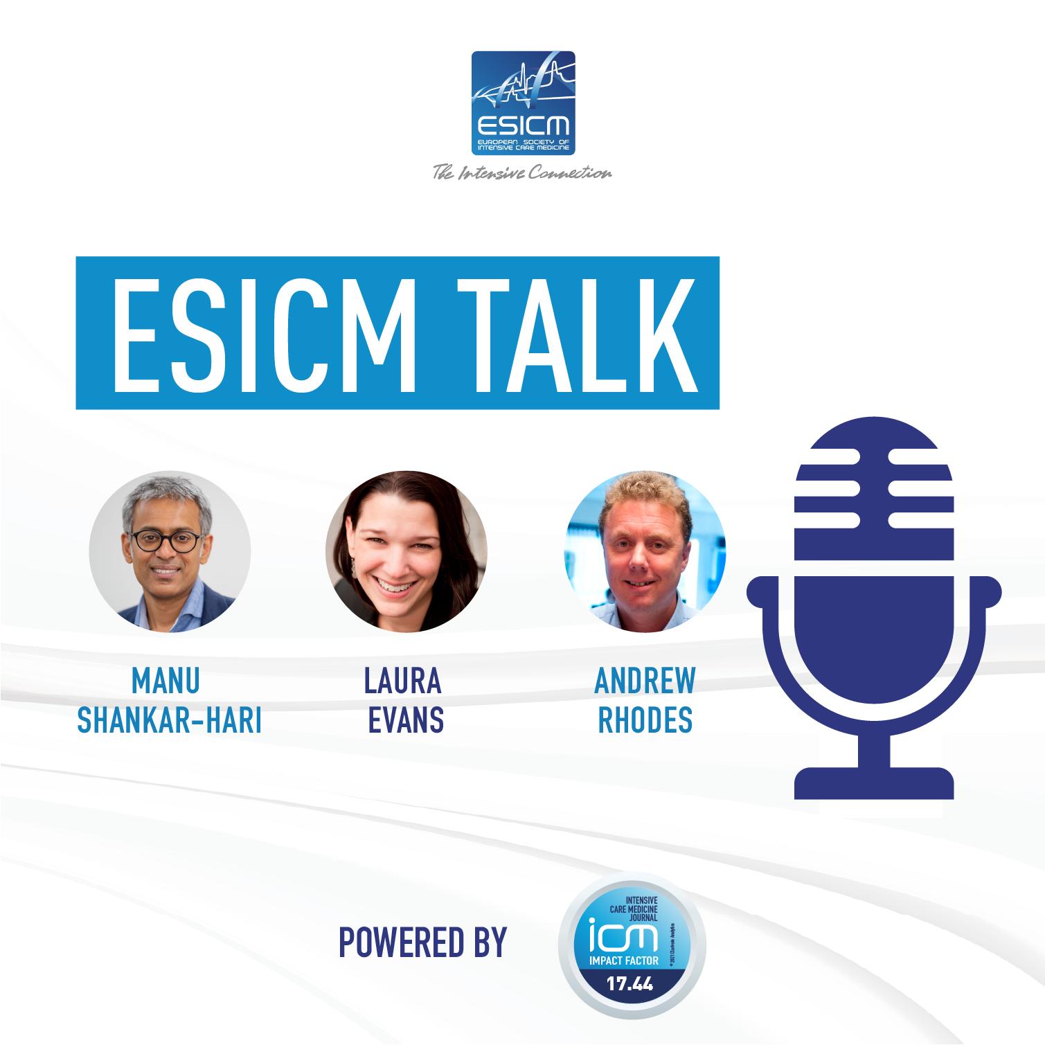 Artwork for podcast ESICM Talk