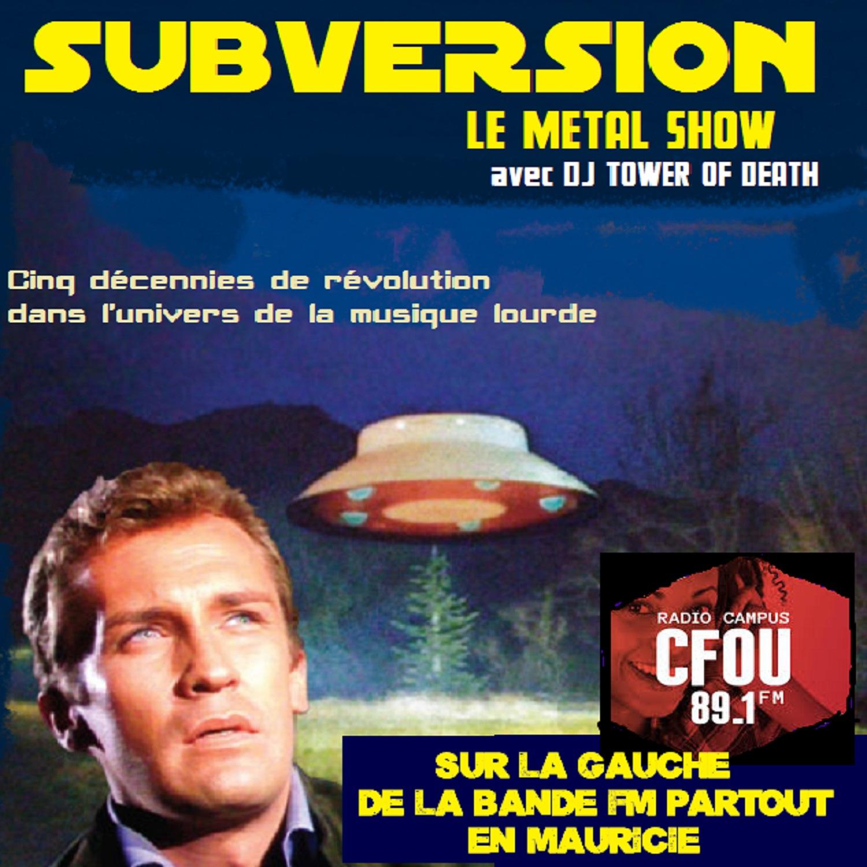Artwork for podcast Subversion Le Metal Show