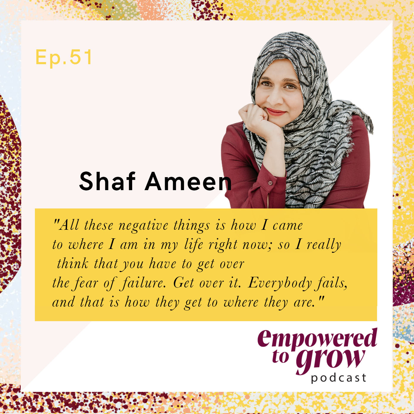 Ep. 51 – Shaf Ameen – Transforming A Need into A Business into a Fulfilling Service