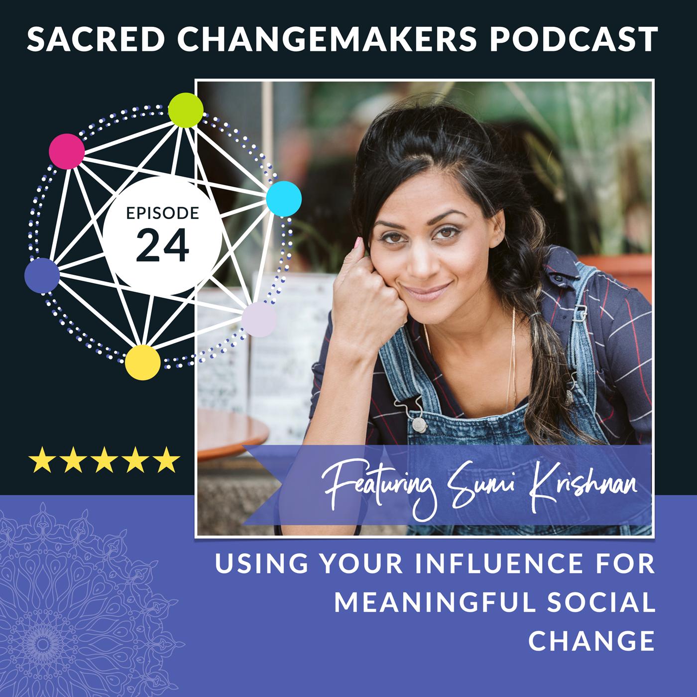 Artwork for podcast Sacred Changemakers