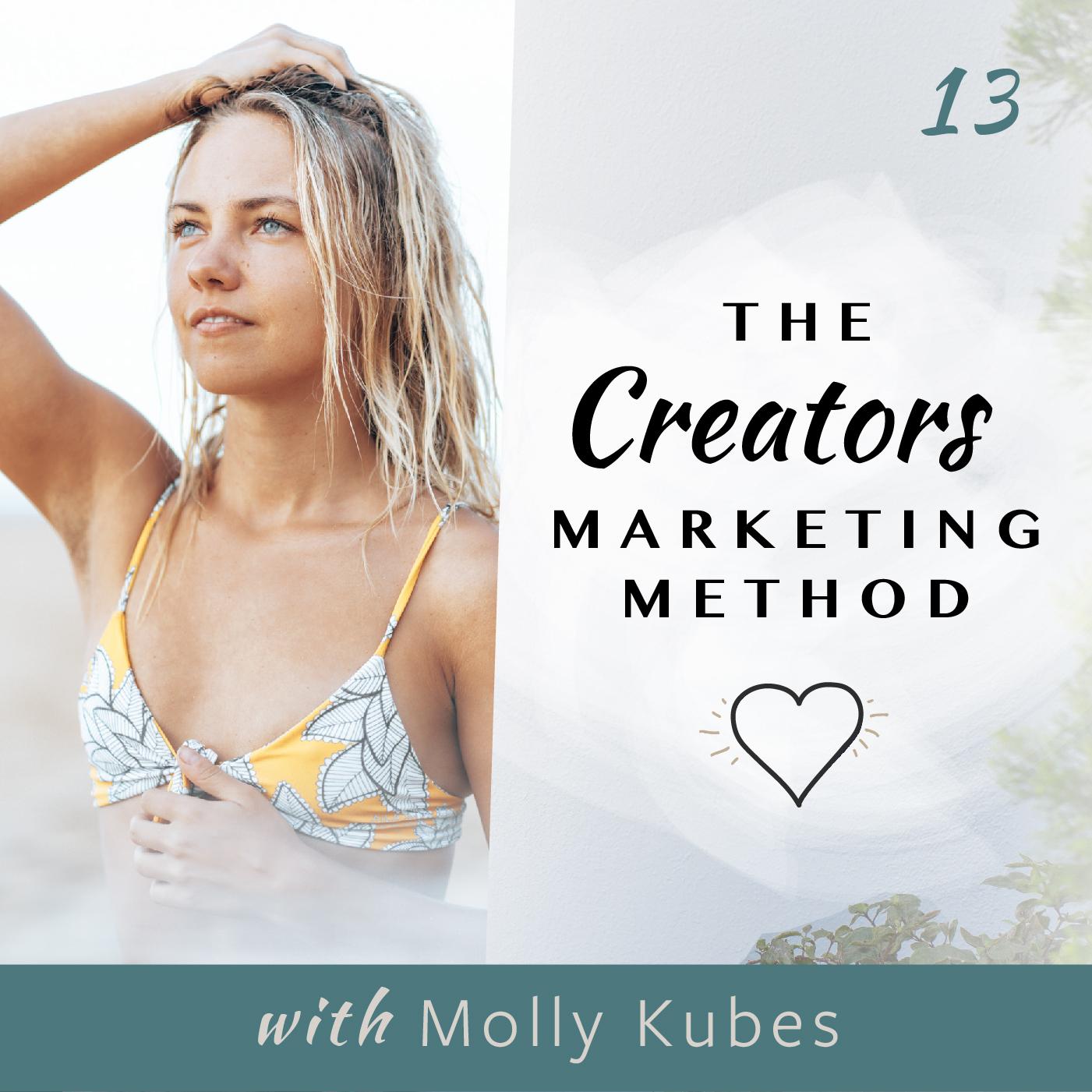 Artwork for podcast Creators Marketing Method