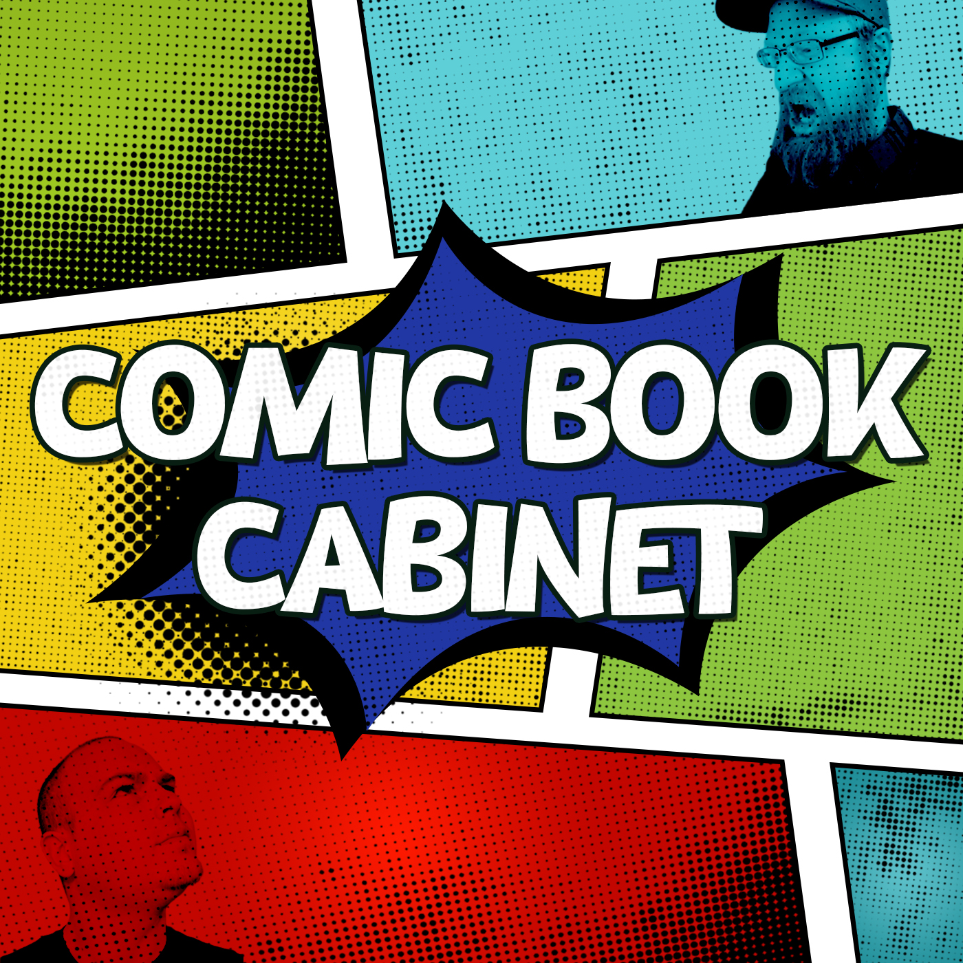 Artwork for podcast Comic Book Cabinet