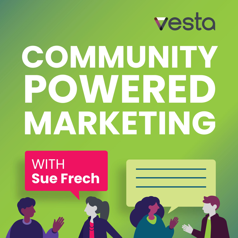Artwork for podcast Community Powered Marketing
