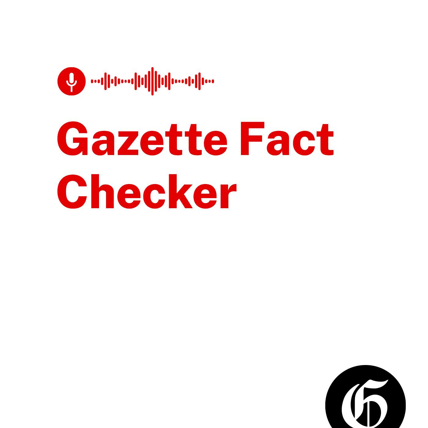 Artwork for podcast The Gazette Fact Checker