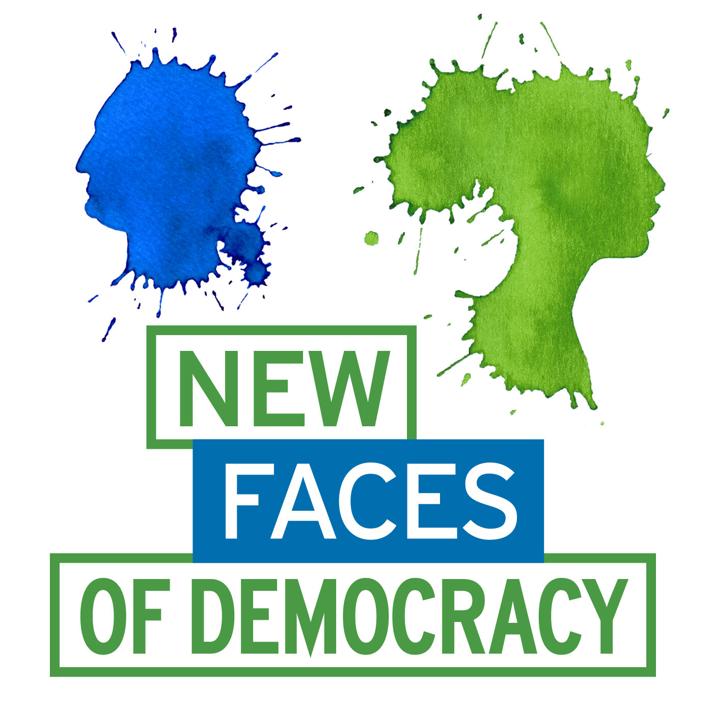 Artwork for podcast New Faces of Democracy