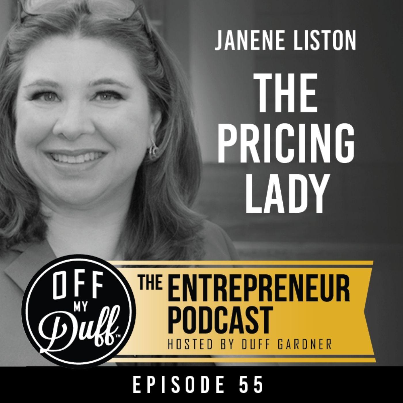 Janene Liston – The Pricing Lady