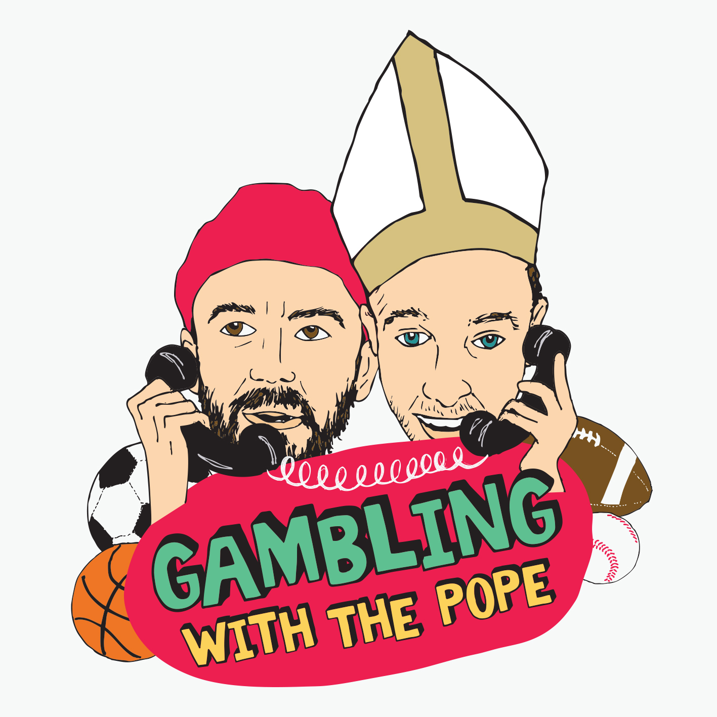 Show artwork for Gambling with The Pope