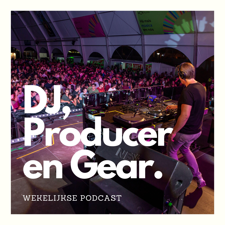 DJ, Producer en Gear logo