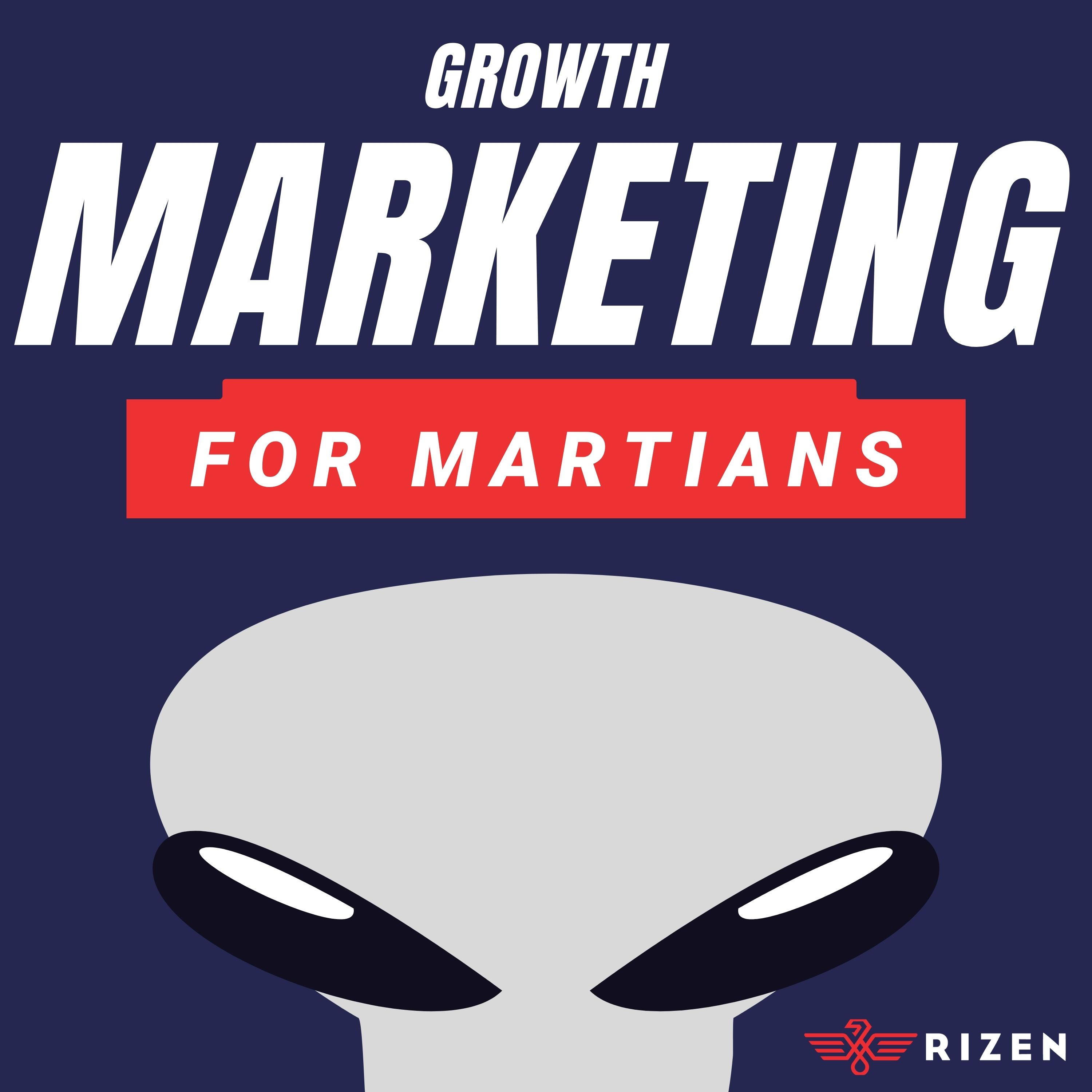 Show artwork for Growth Marketing for Martians