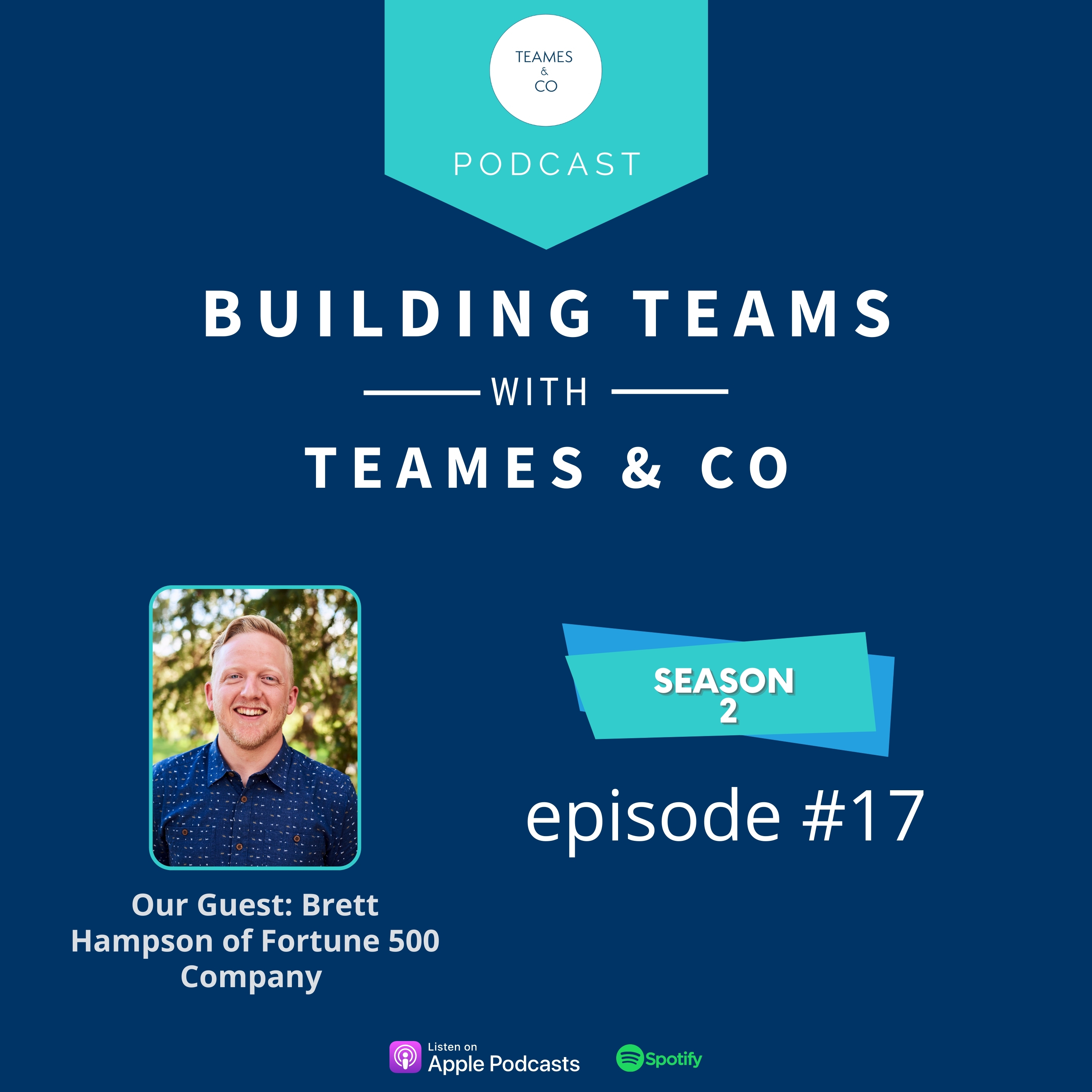 Artwork for podcast Building Teams with TEAMES & CO