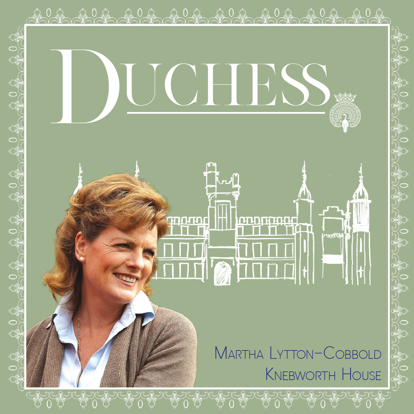 Martha Lytton-Cobbold of Knebworth House