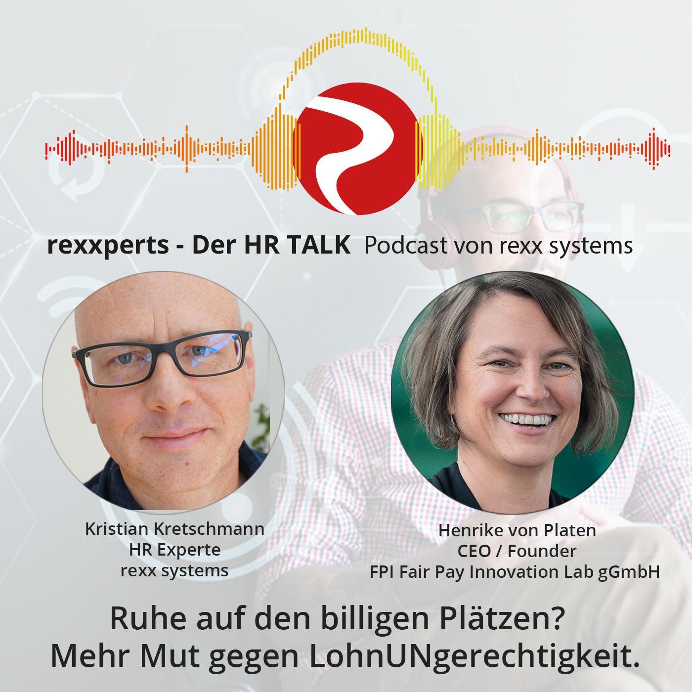 Artwork for podcast rexxperts - Der HR Talk Podcast
