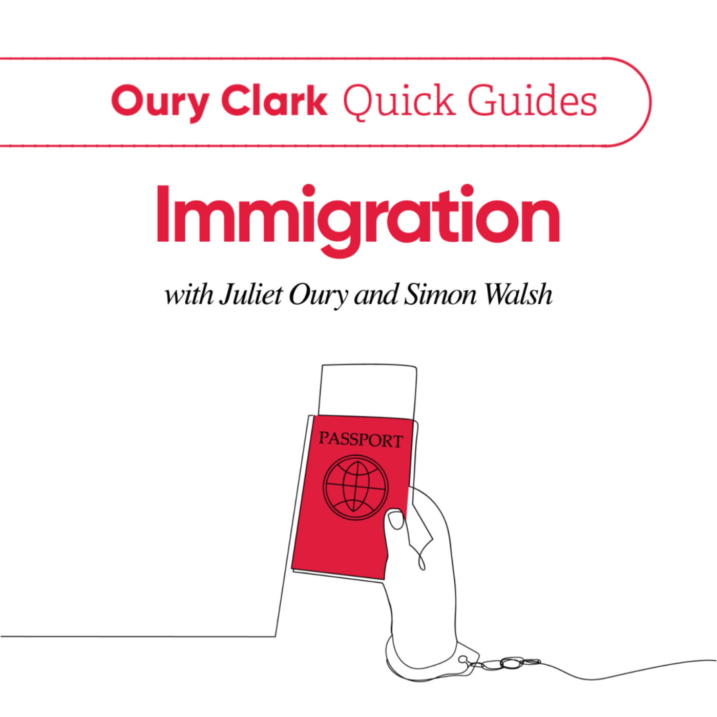 Artwork for podcast Oury Clark Audio Quick Guides