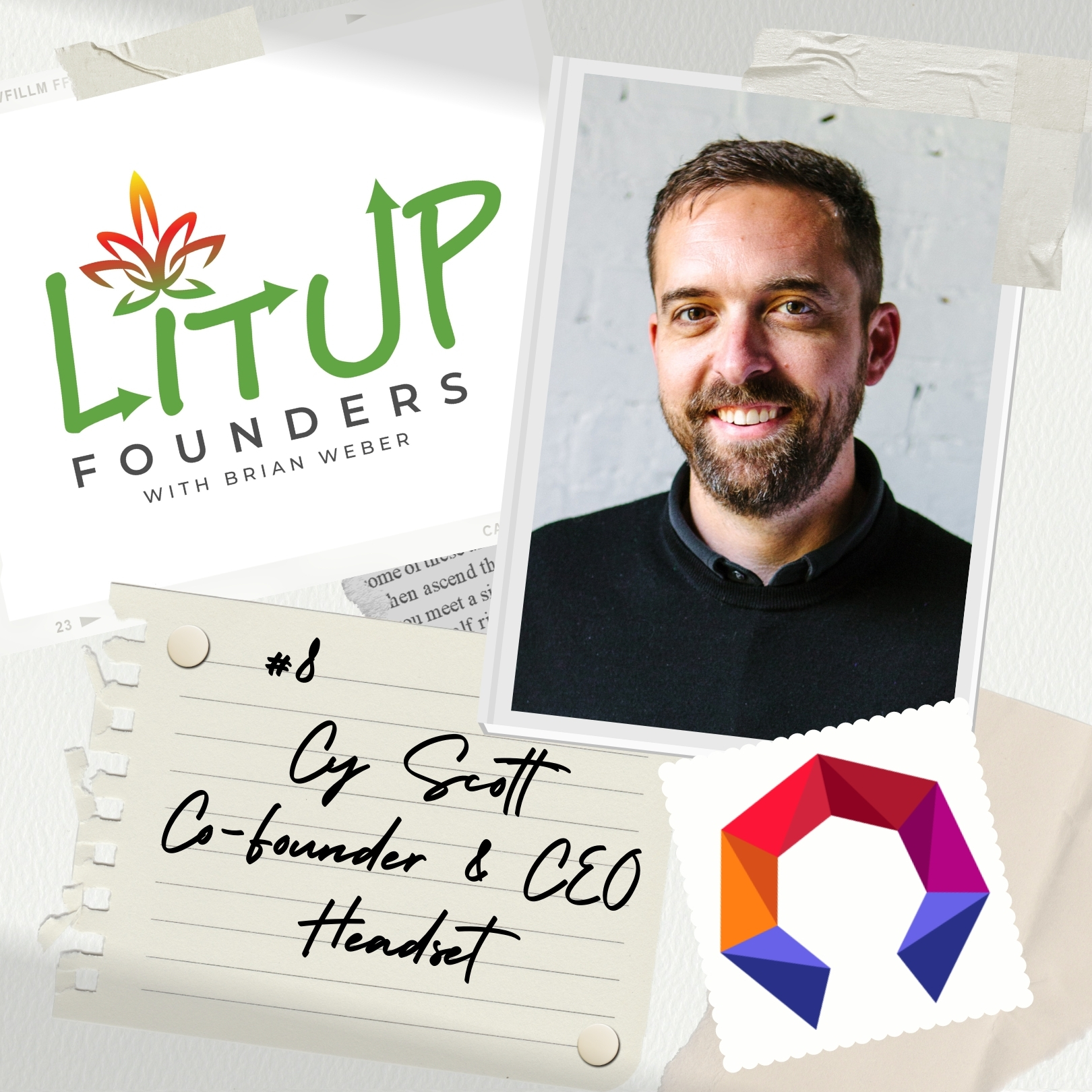 Artwork for podcast Lit Up Founders
