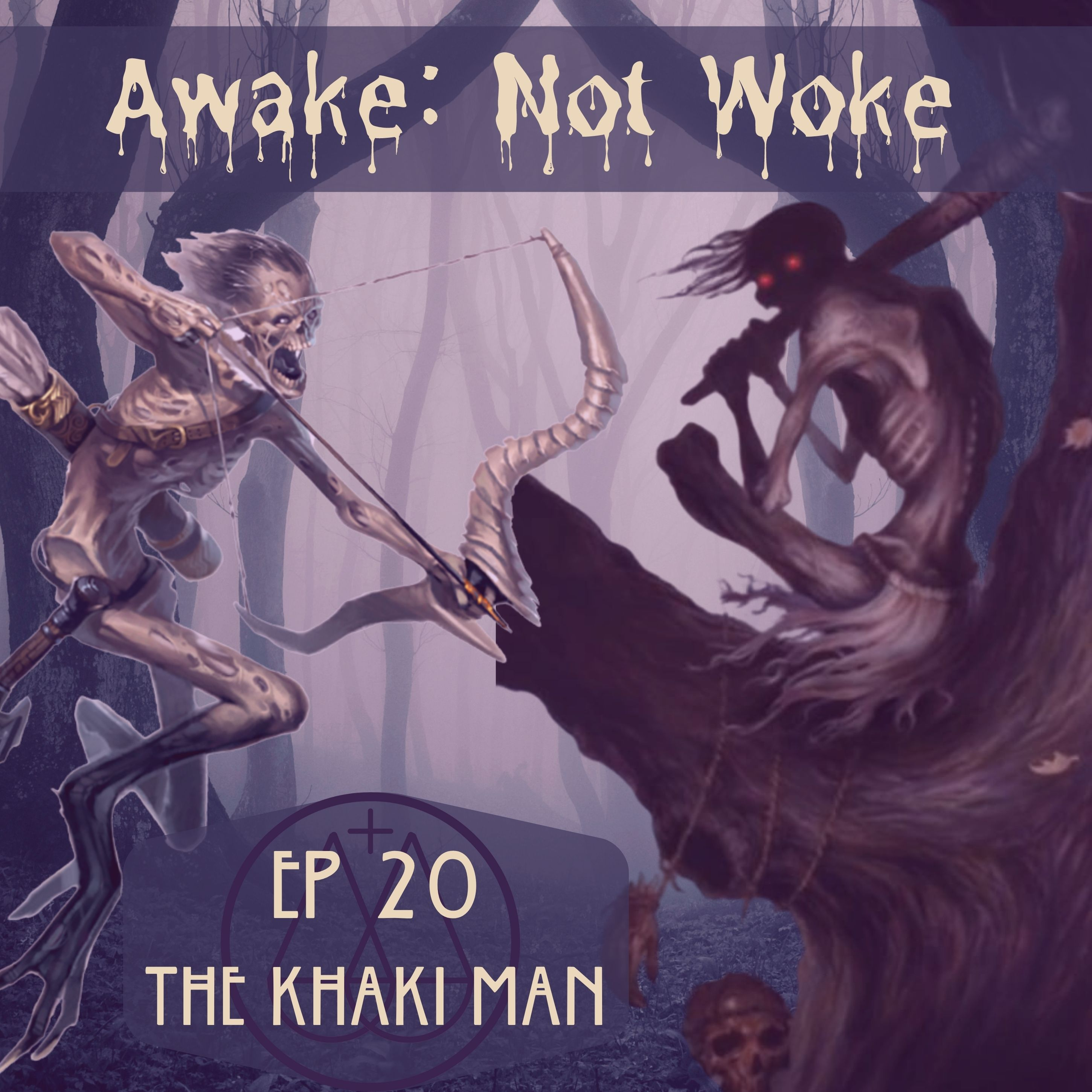 20: The Khaki Man – Skinwalkers but Not Really, Navajo & Ojibwa Legends, Creatures of the Great Lakes Region, Native American Medicine Man, & More!