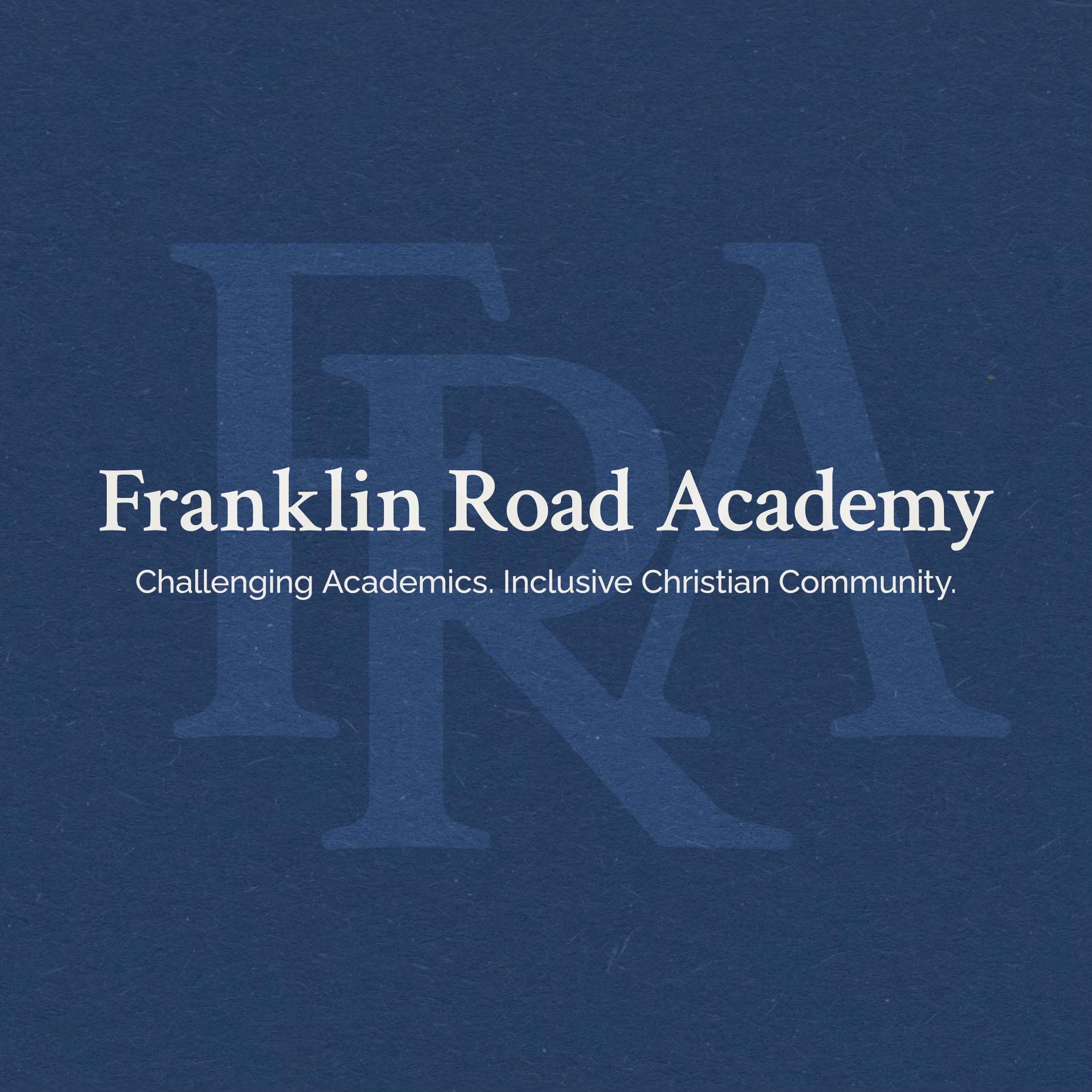 Artwork for podcast The Franklin Road Academy Podcast