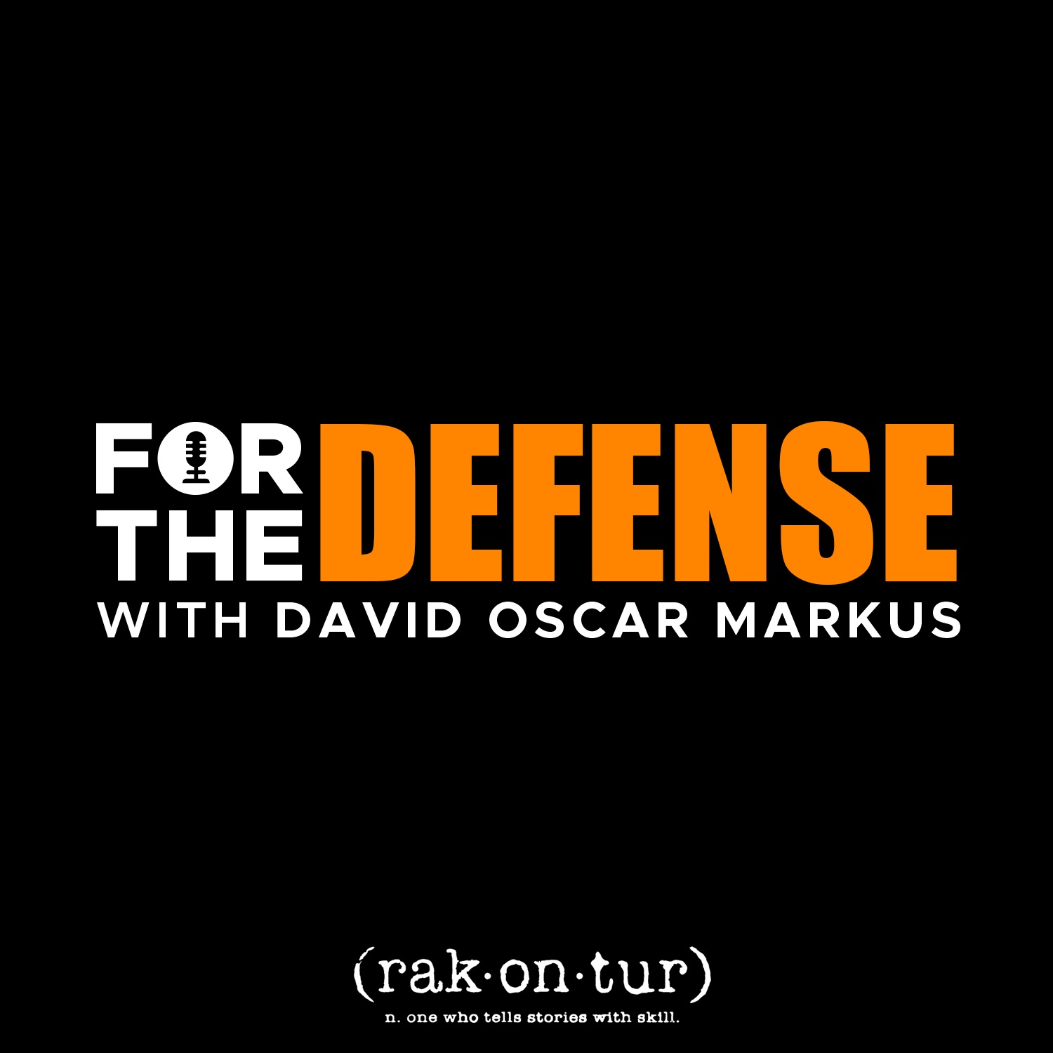 Show artwork for For the Defense with David Oscar Markus