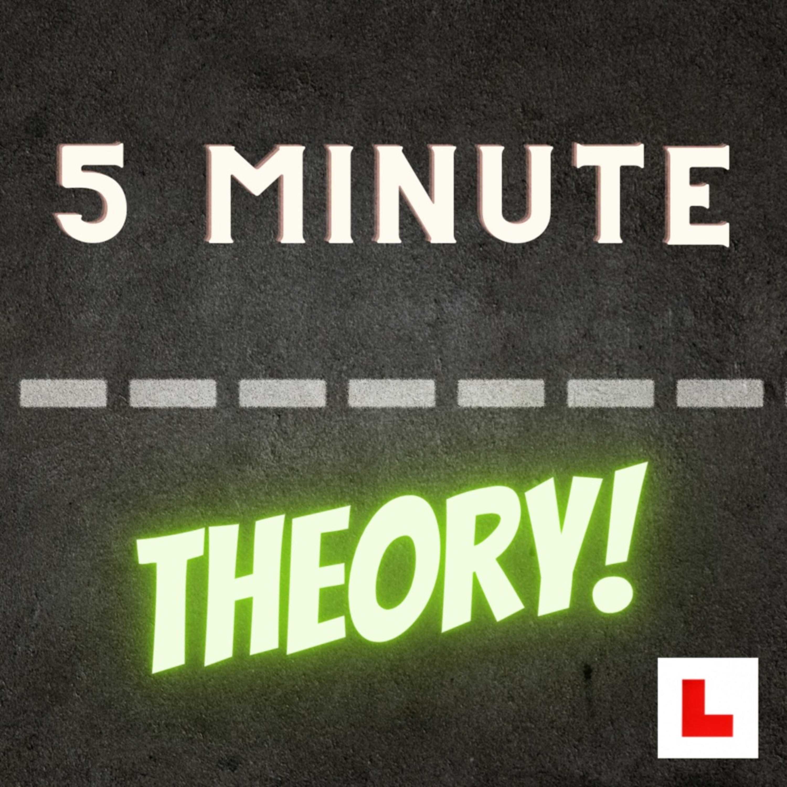 Artwork for podcast 5 minute theory