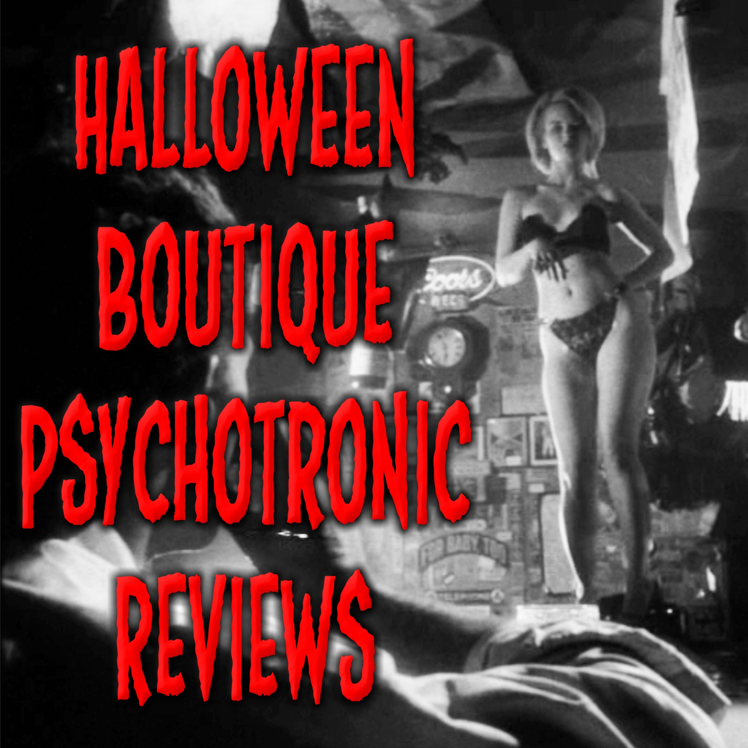 Artwork for podcast Halloween Boutique Psychotronic Reviews