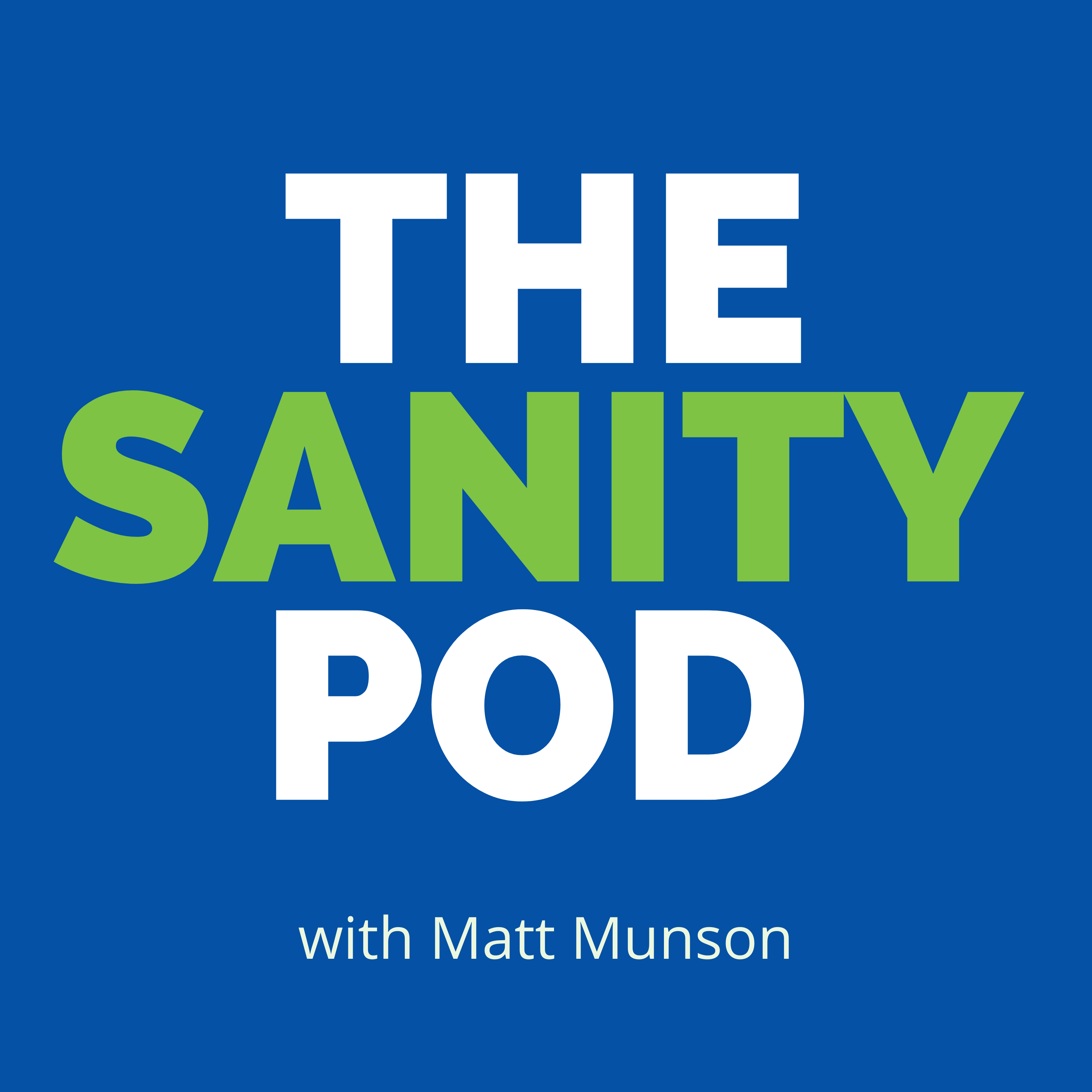 Show artwork for The Sanity Pod