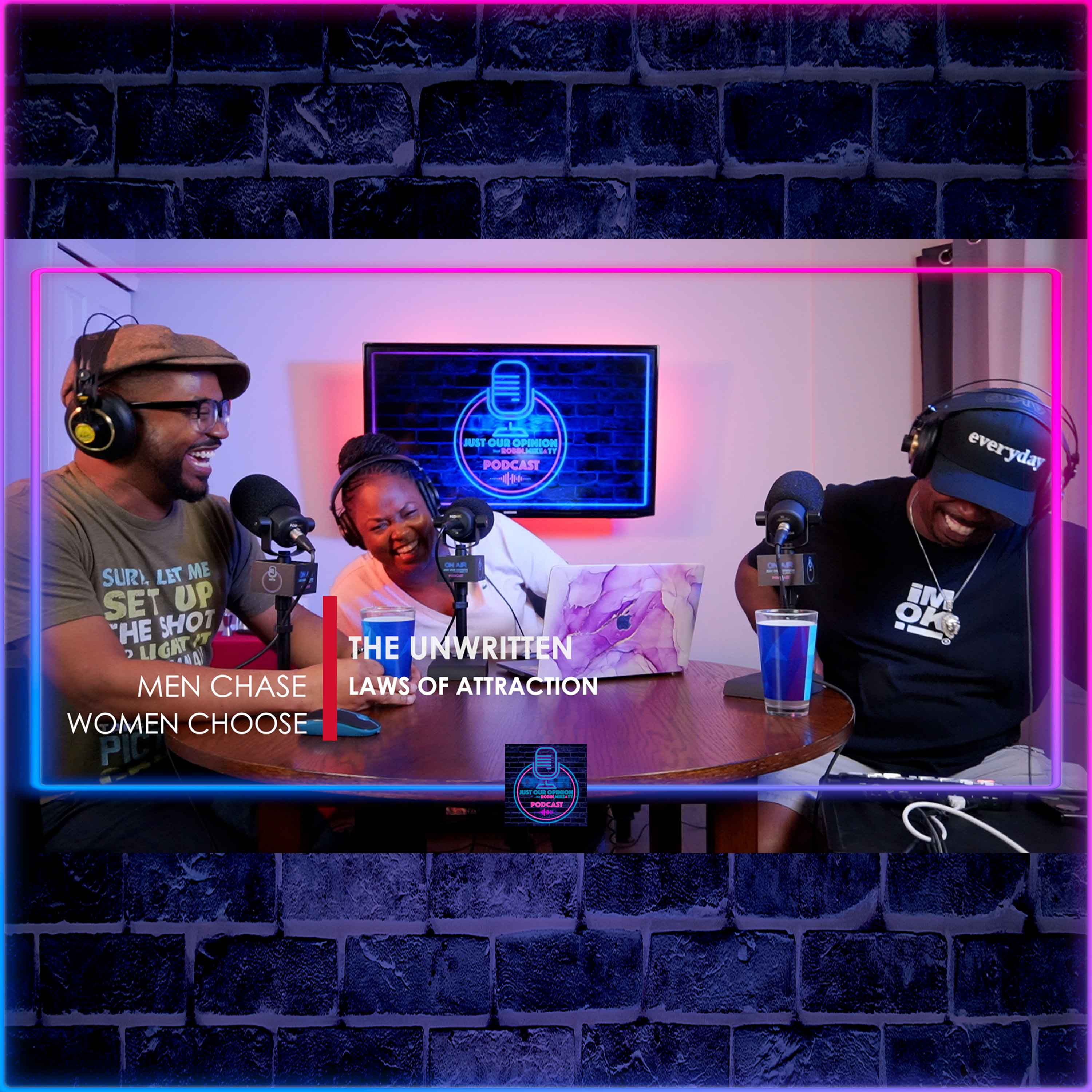 Artwork for podcast Just Our Opinion with Robin, Mike & TY