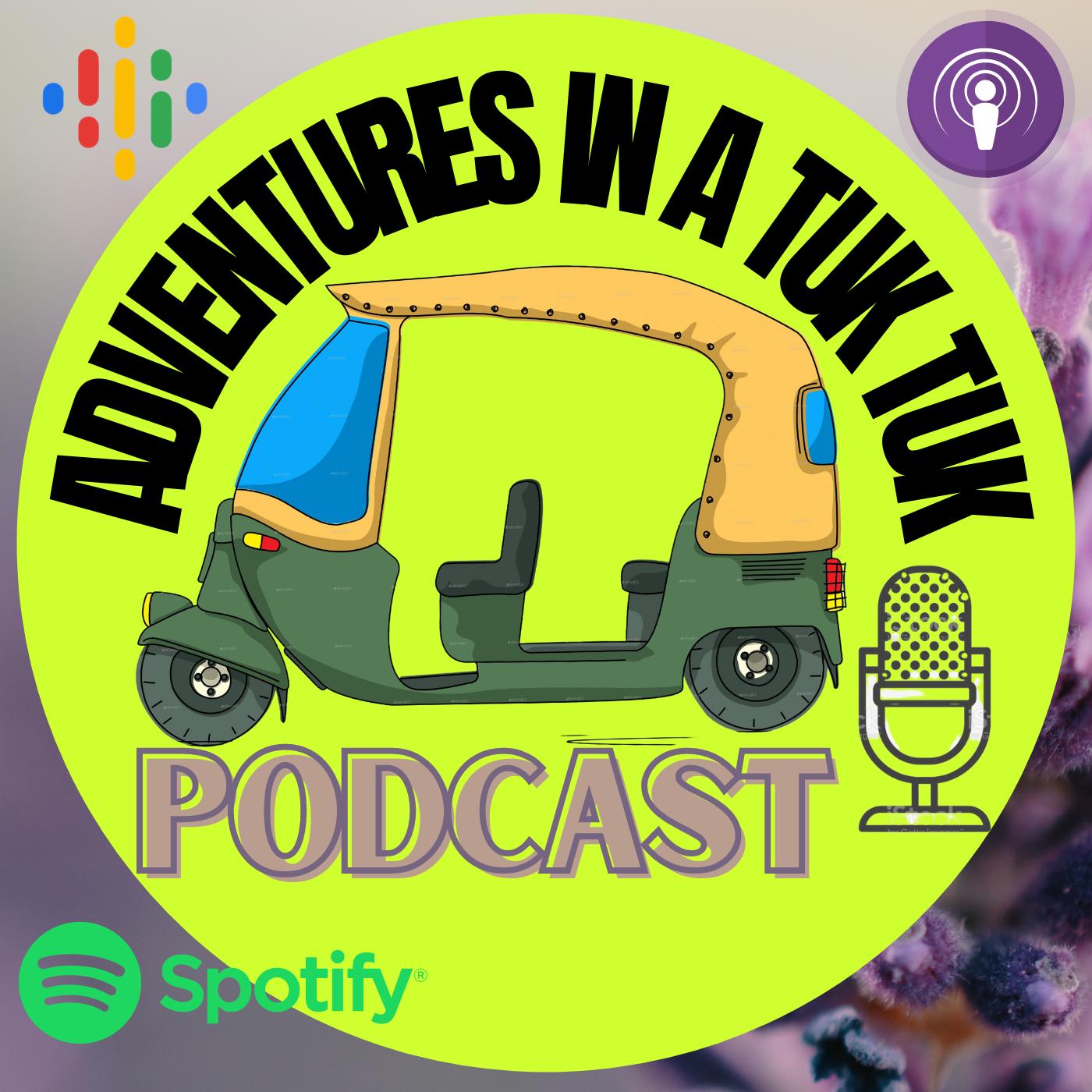 Artwork for podcast Adventures in a tuk tuk