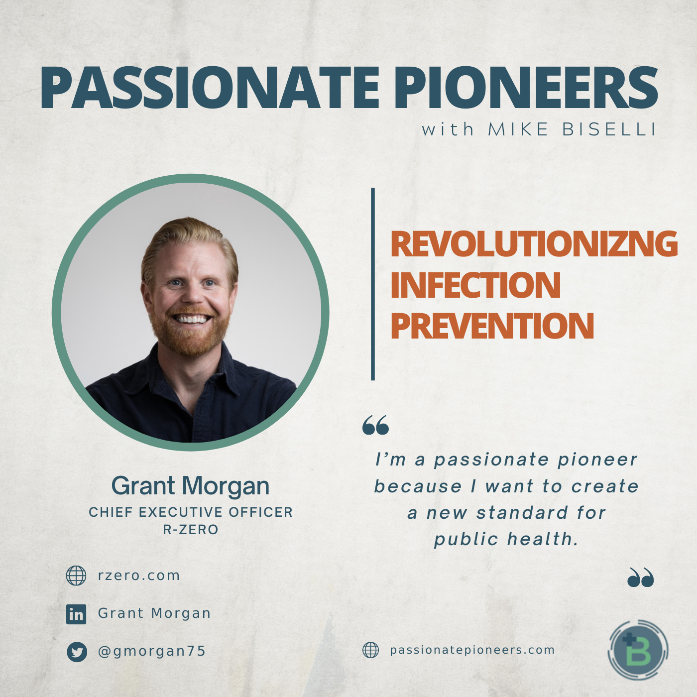 Revolutionizing Infection Prevention with Grant Morgan