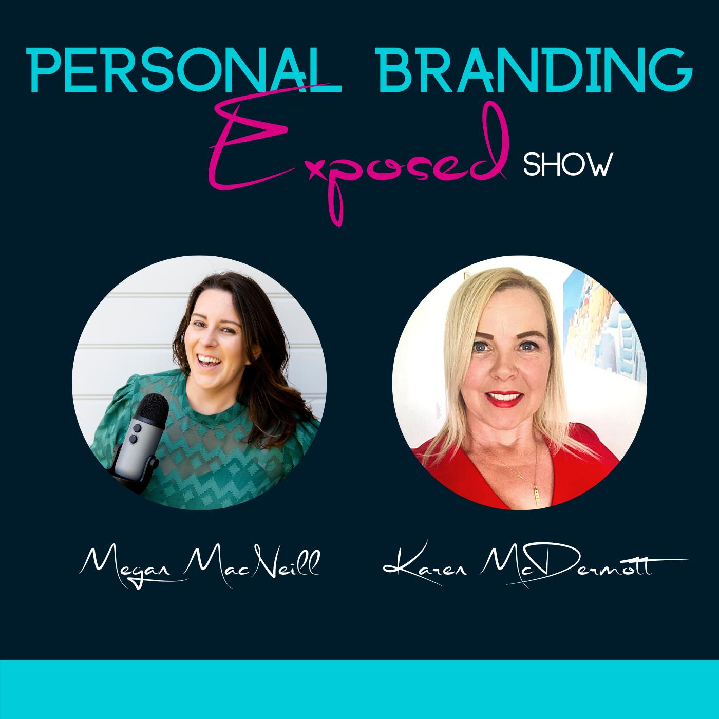 Artwork for podcast Personal Branding Exposed