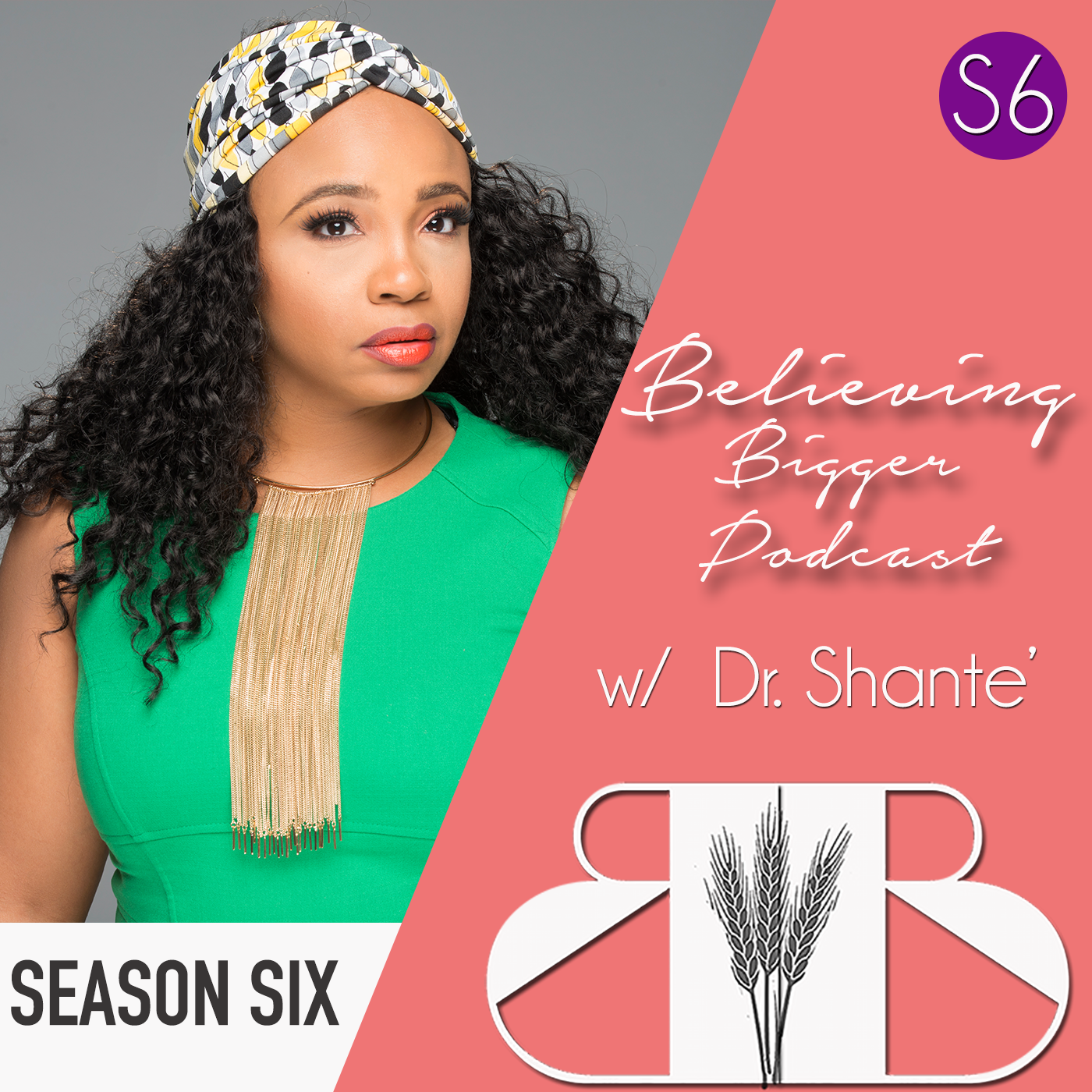 Artwork for podcast Believing Bigger with Dr. Shante