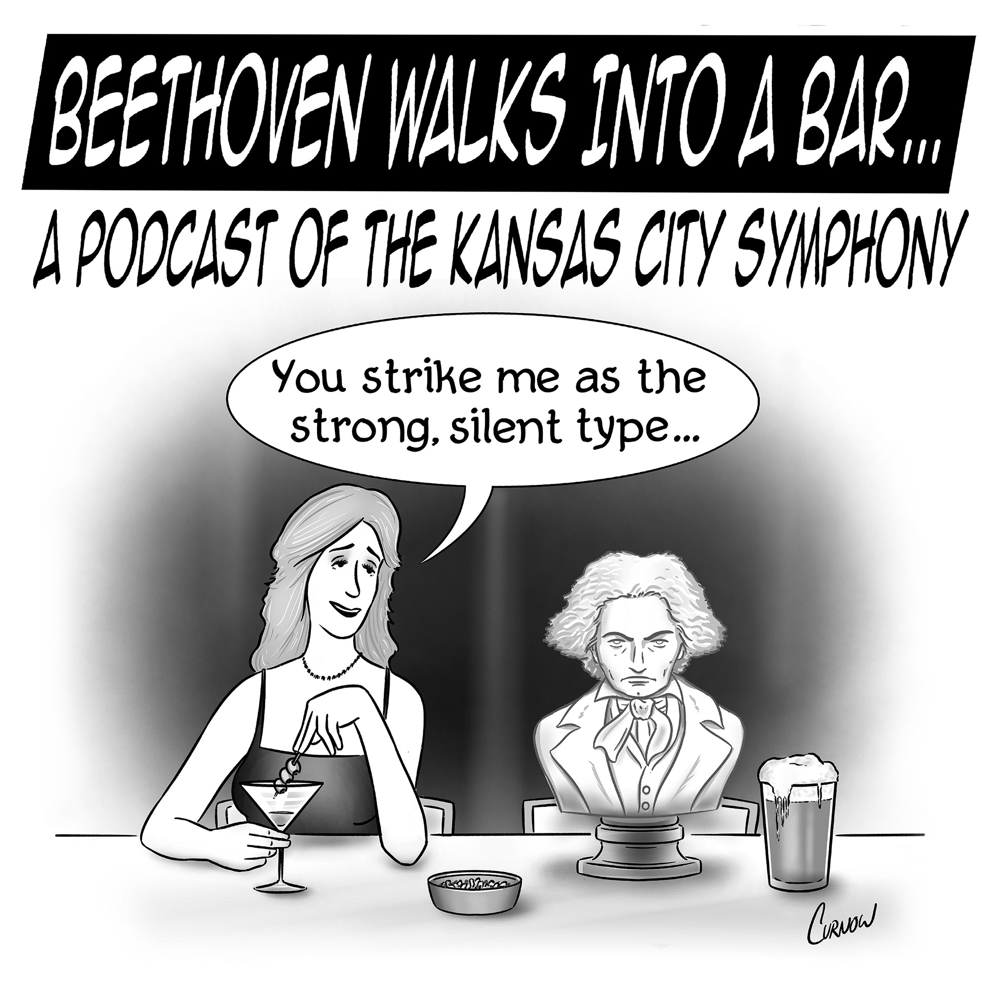Artwork for podcast Beethoven walks into a bar...