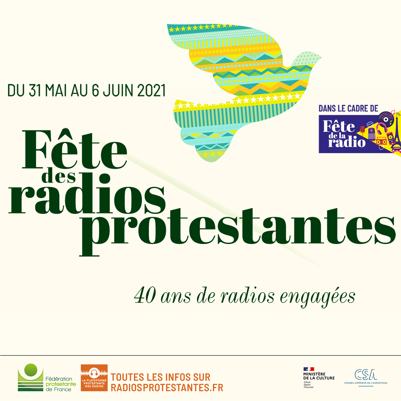 Artwork for podcast Fête des radios protestantes 2021