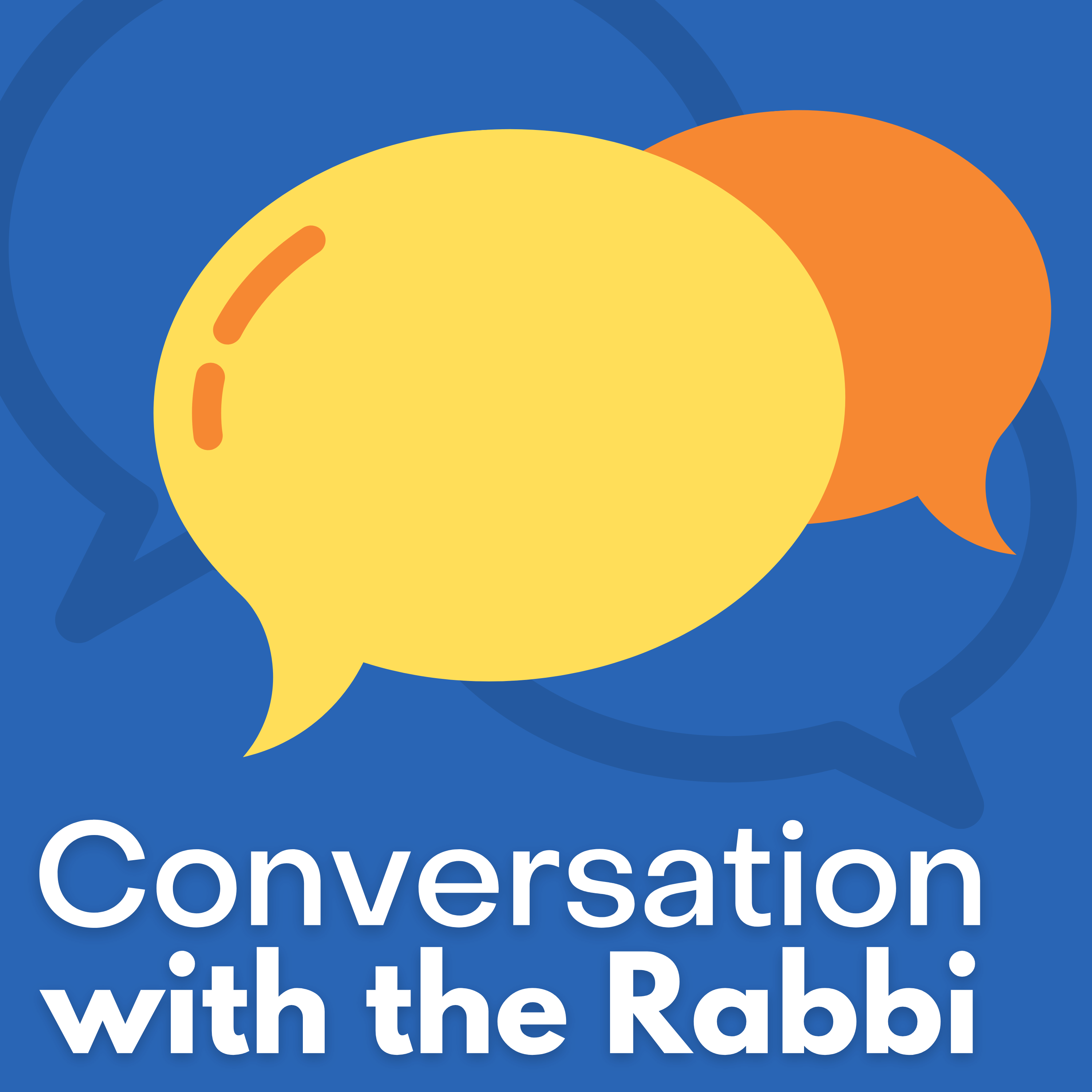 Show artwork for Conversation with the Rabbi