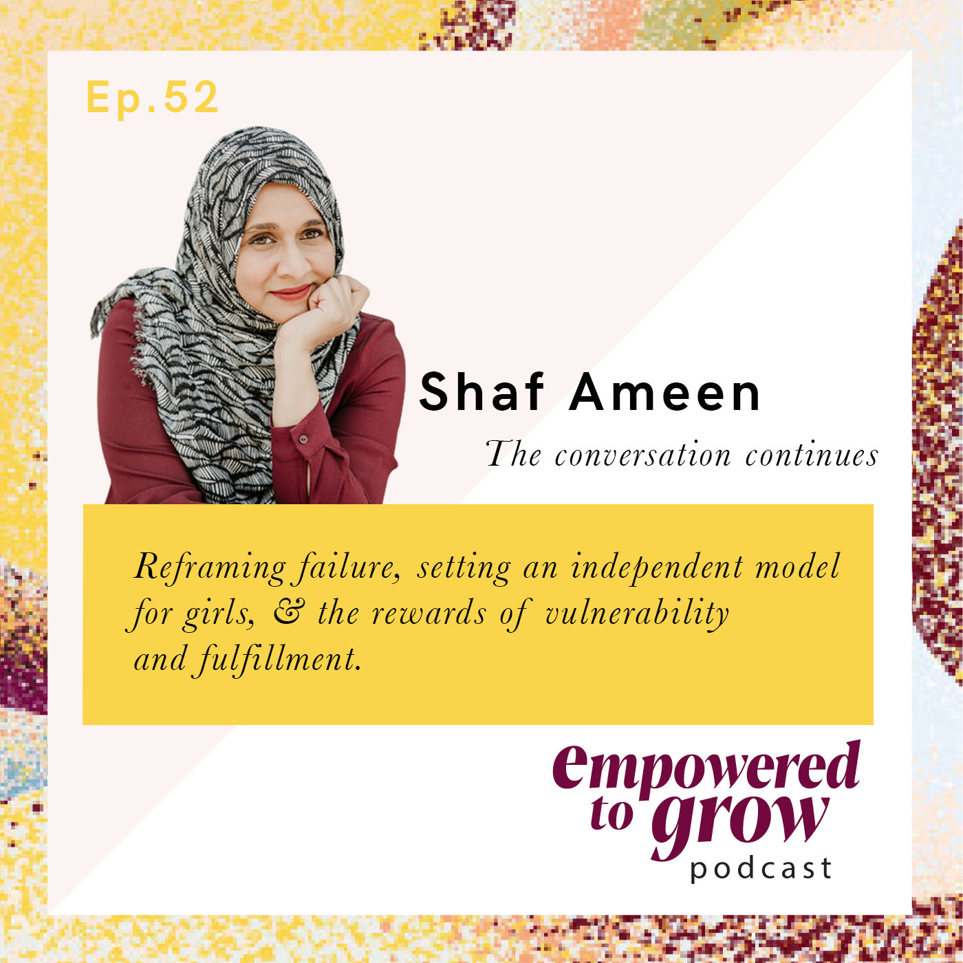 Ep. 52 – Unchartered Discussions – Shaf Ameen