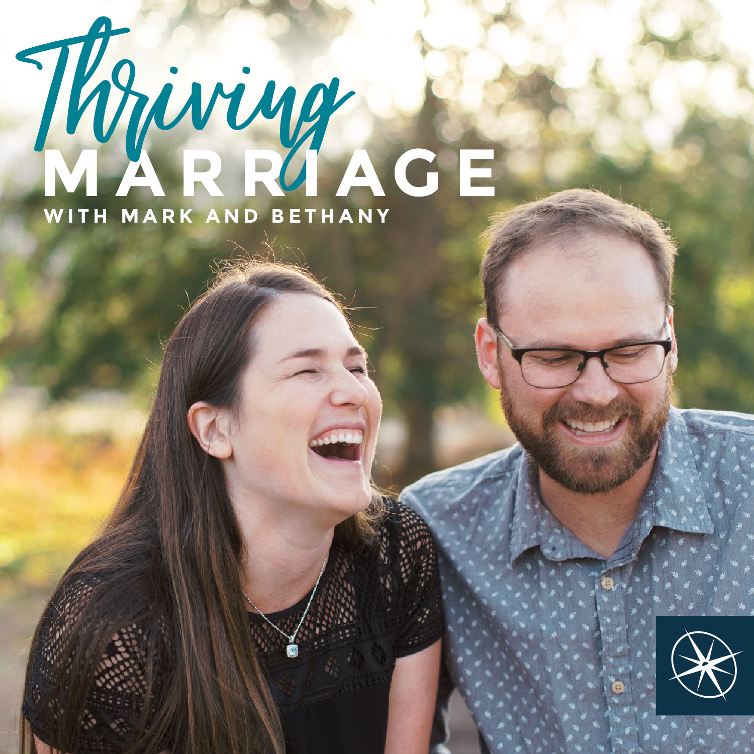 Artwork for podcast Thriving Marriage with Mark and Bethany