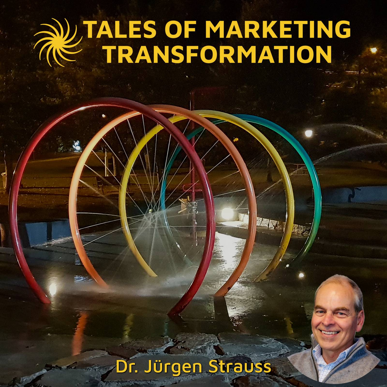 Artwork for podcast Tales of Marketing Transformation