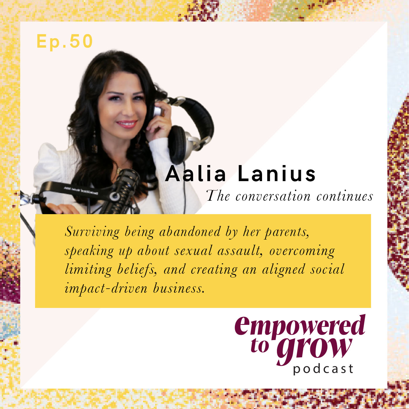 Ep. 50 – Unchartered Discussions – Aalia Lanius