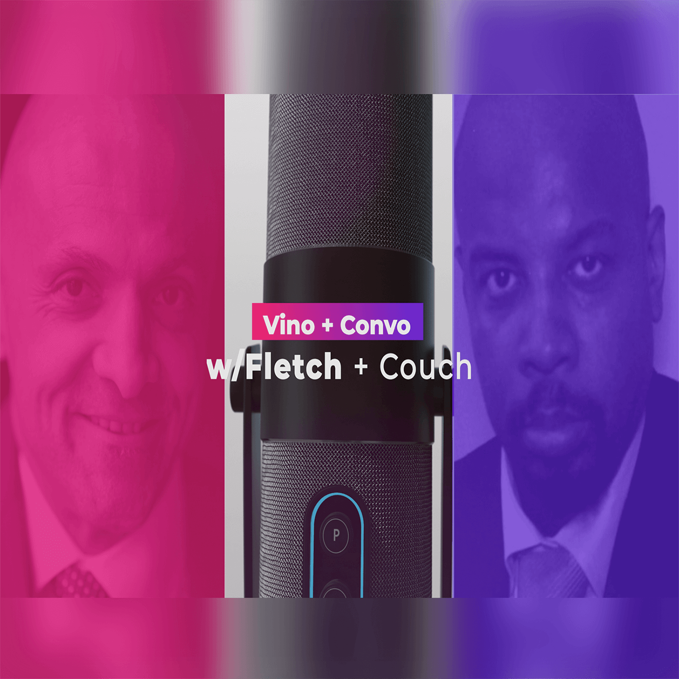 Show artwork for Vino & Convo w/Fletch & Couch