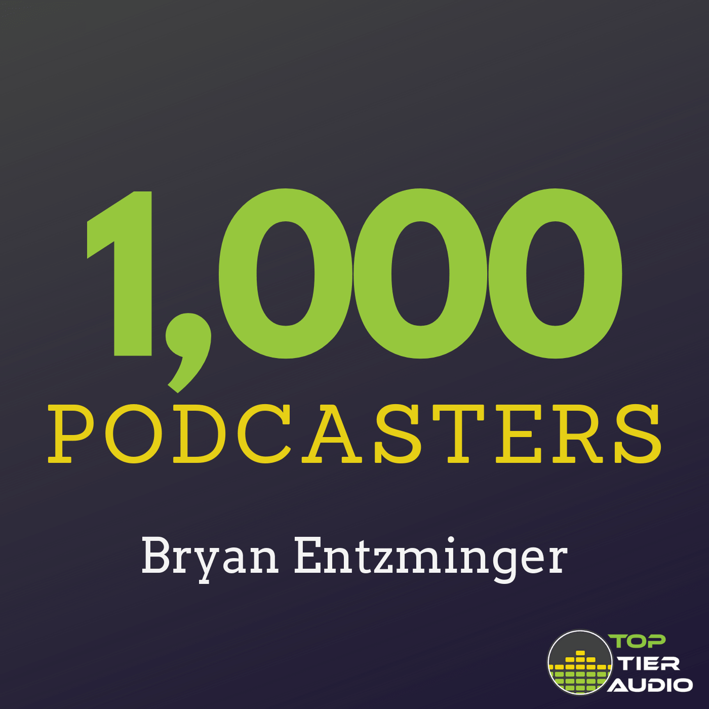 Show artwork for 1000 Podcasters