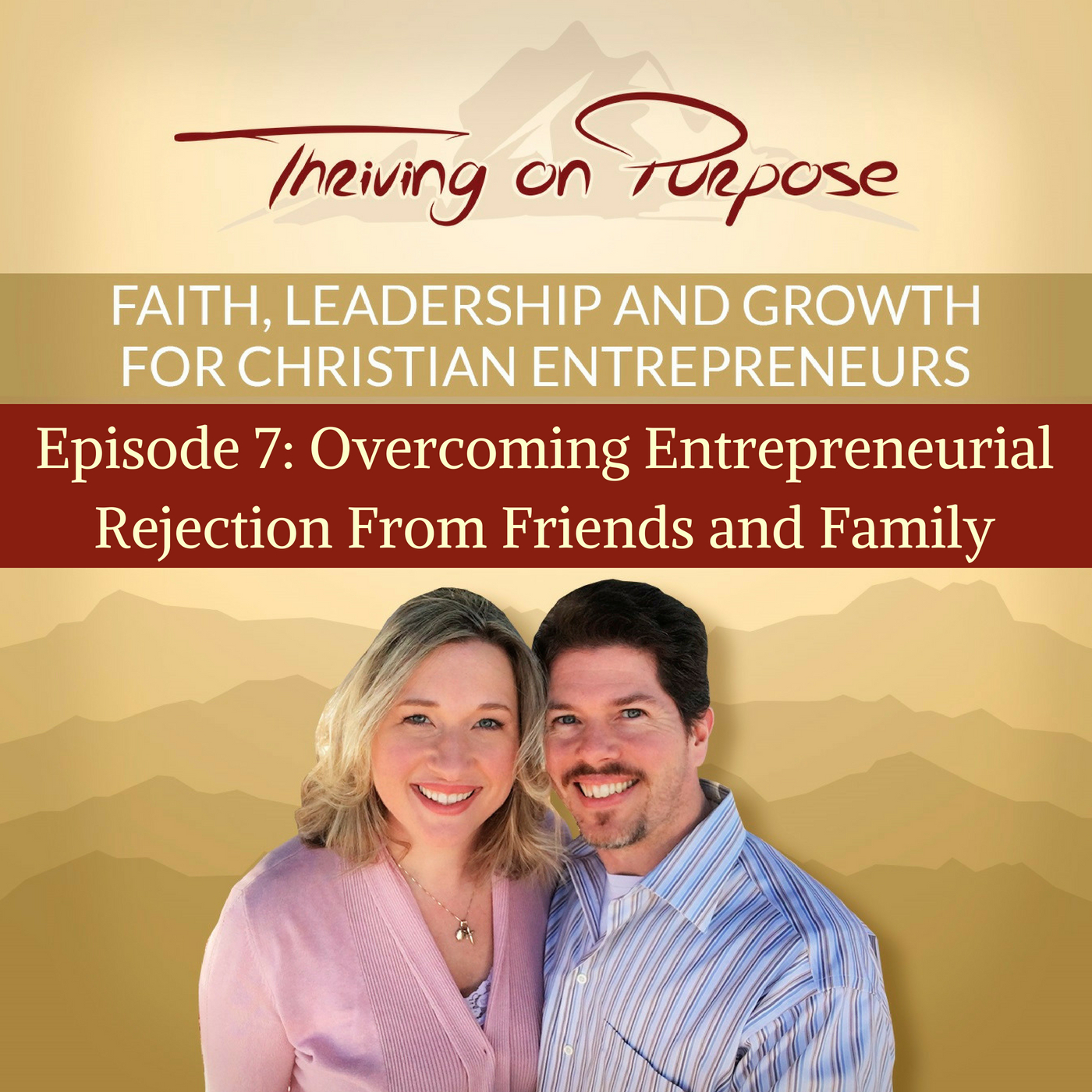 Artwork for podcast Thriving on Purpose Podcast