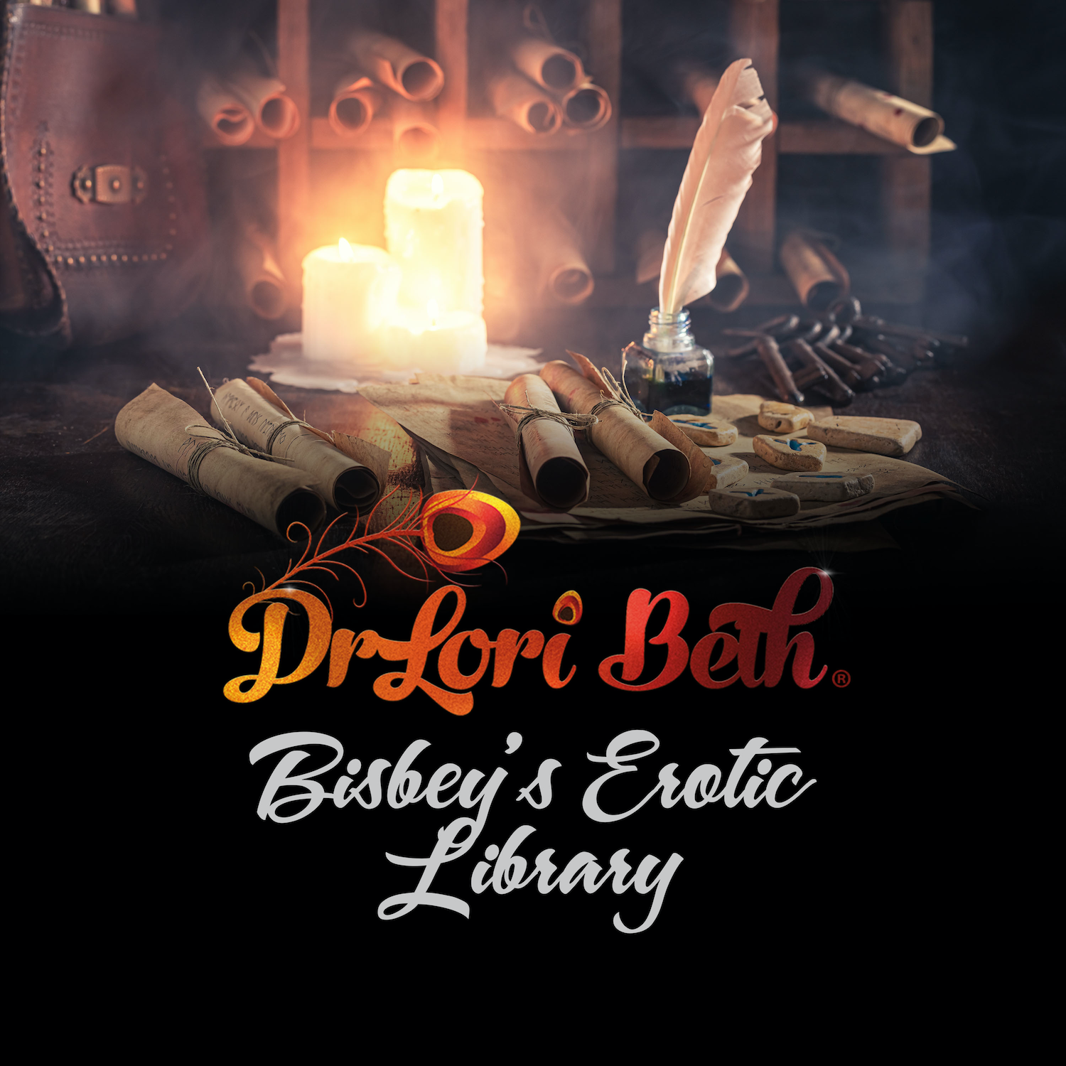 Artwork for podcast Dr Lori Beth Bisbey's Erotic Library